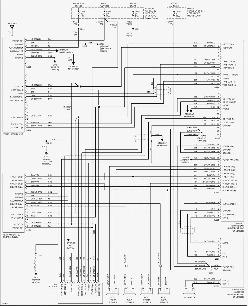 New 2001 Ford Explorer Wiring Diagram 1993 Within Sport Radio