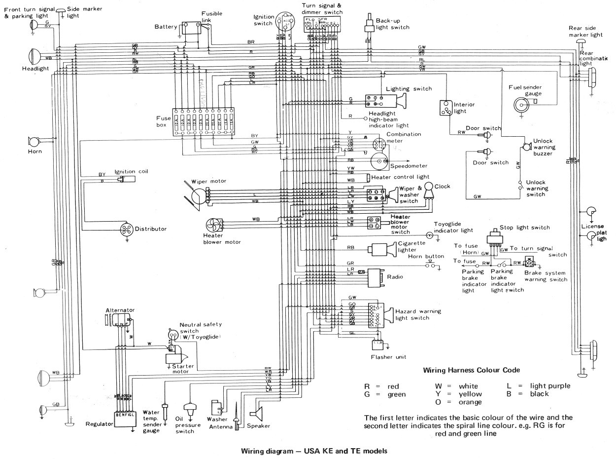 2005 Toyota Wiring Diagram | Wiring Diagram on