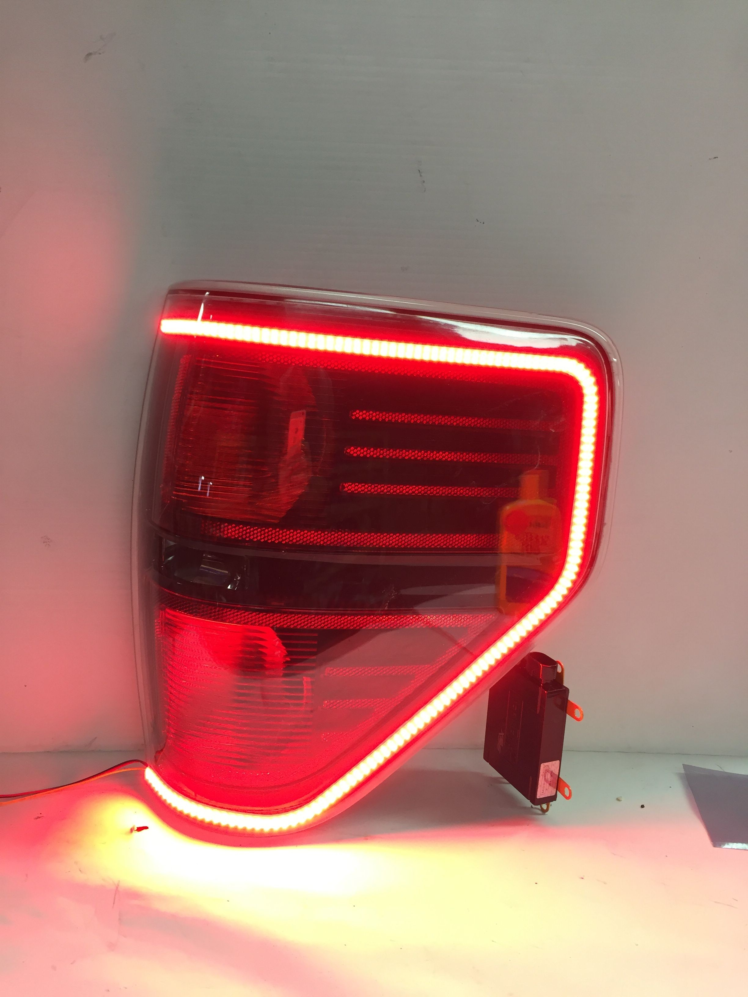 Our custom OEM Ford F150 and Raptor Tail Lights are here These modified OEM tail