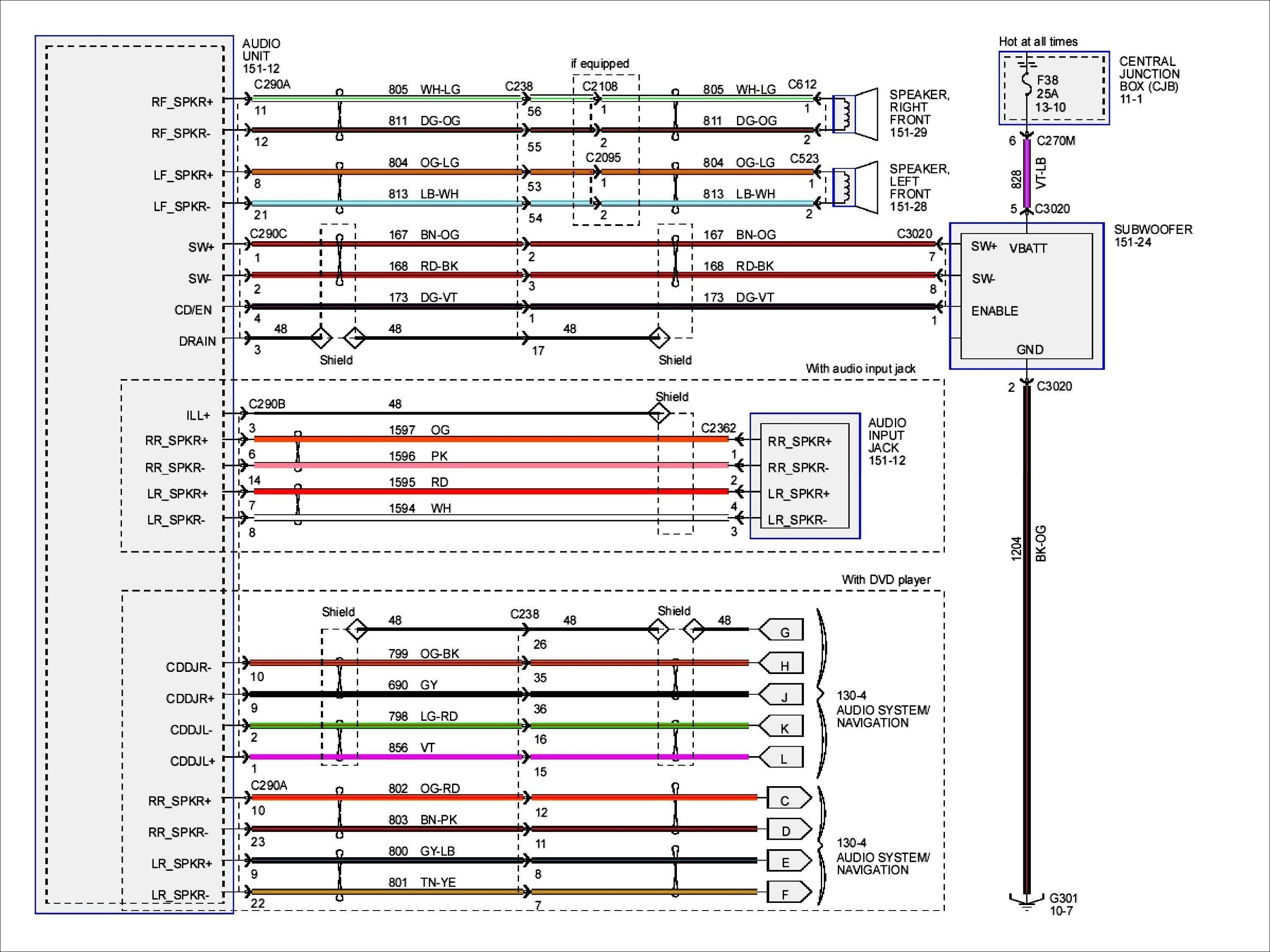 Double Din Radio Wiring Diagram - Wiring Data