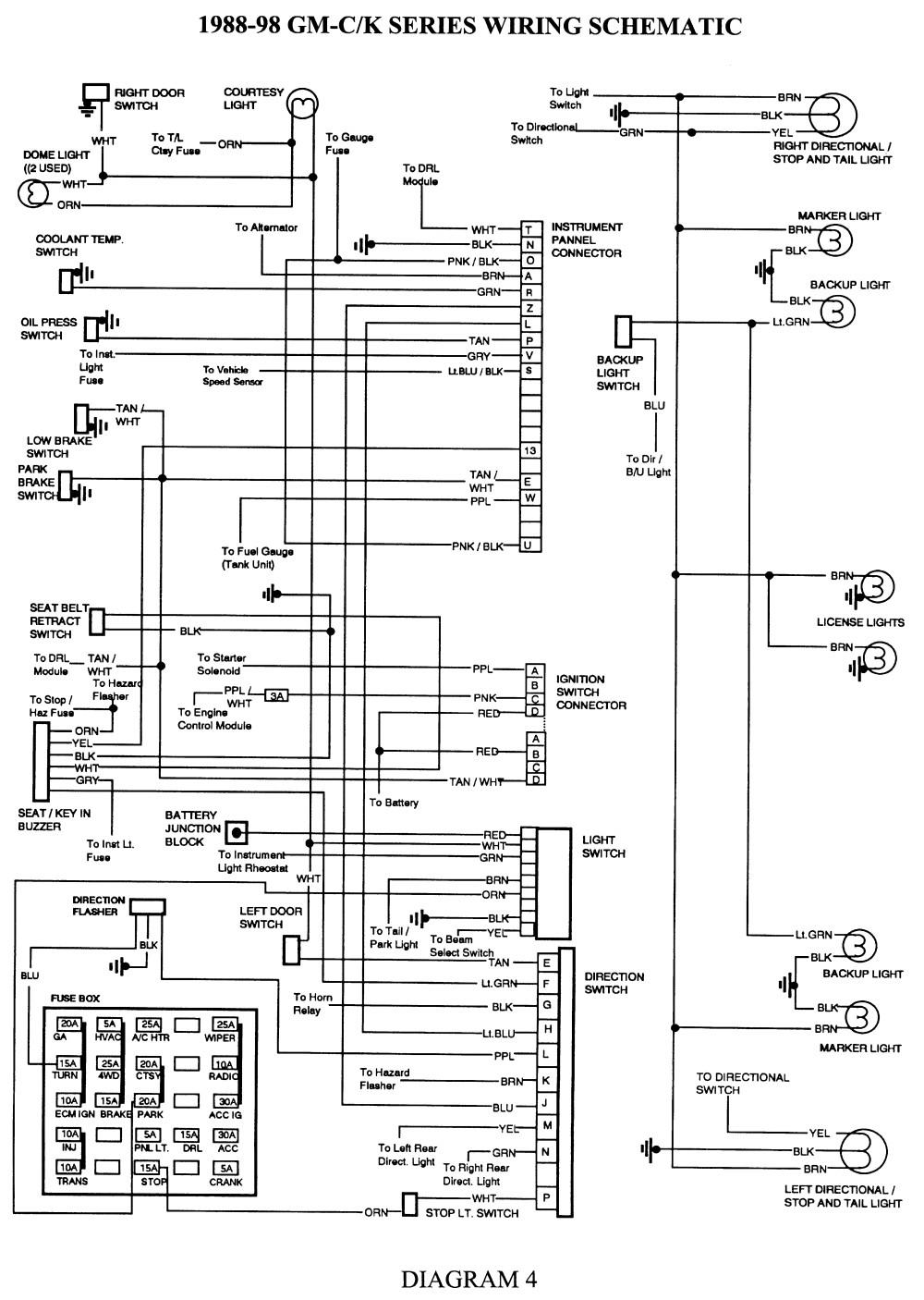 2003 Silverado Tail Light Wiring Harness Anything Diagrams