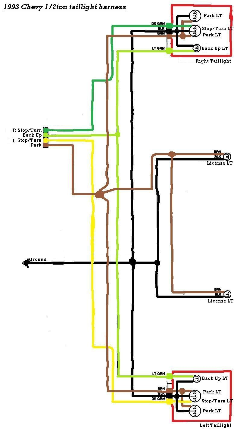 94 Chevy 1500 ke Light Wiring Diagram - basic electrical ... on