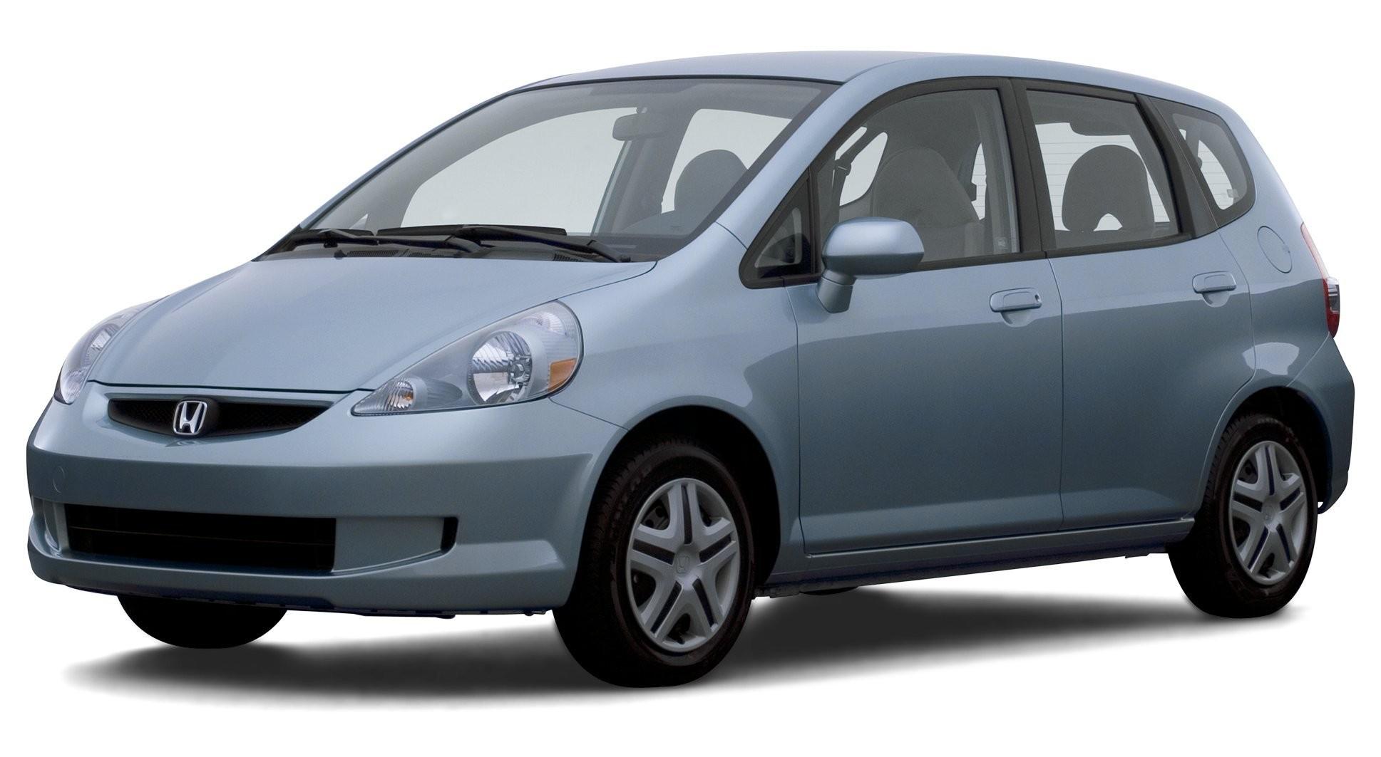 2007 Dodge Caliber 4 Door Hatchback Front Wheel Drive 2007 Honda Fit 5 Door Hatchback Manual Transmission