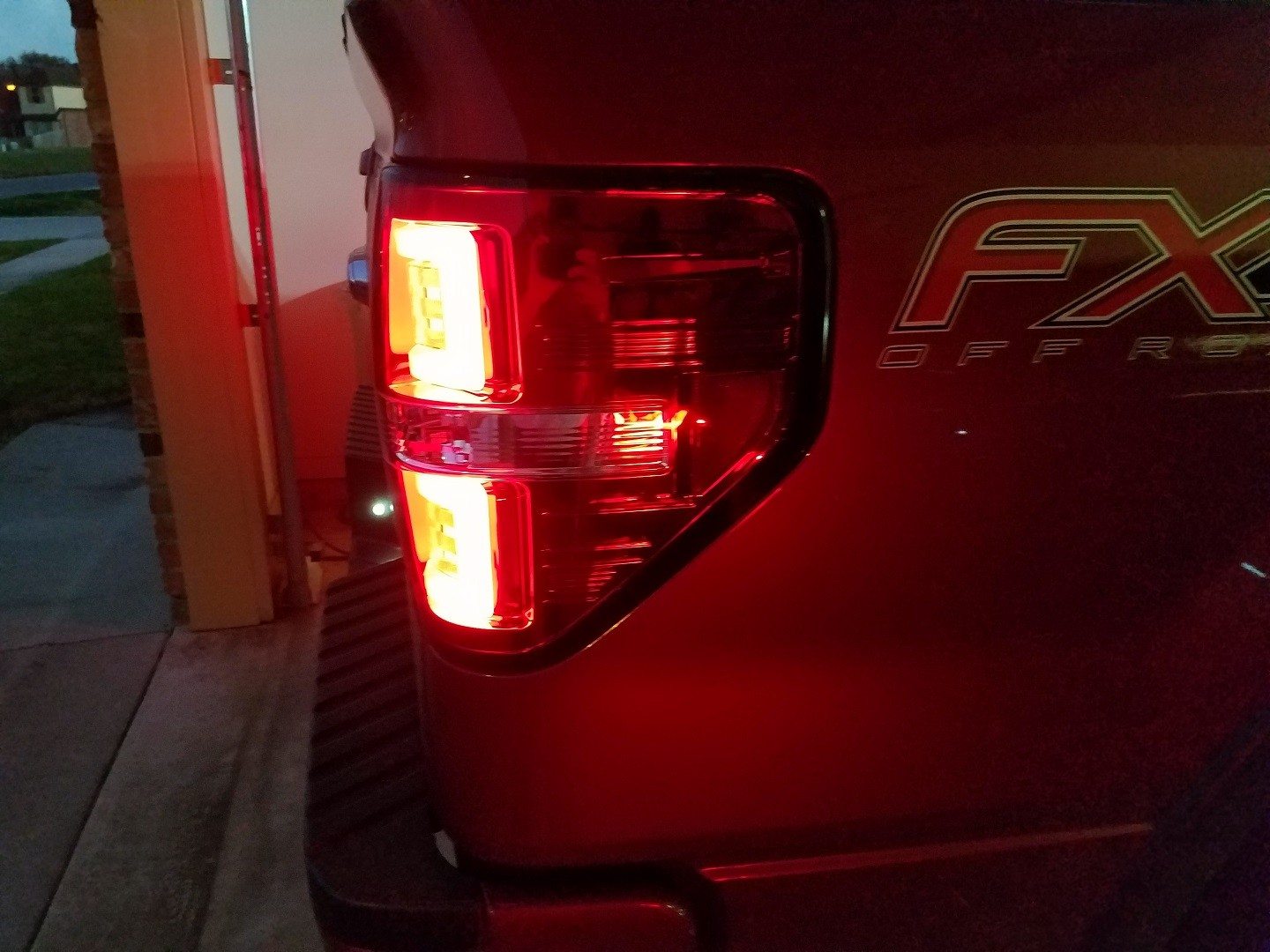 RECON CL Ford F150 & RAPTOR 09 14 OLED TAIL LIGHTS – Clear Lens