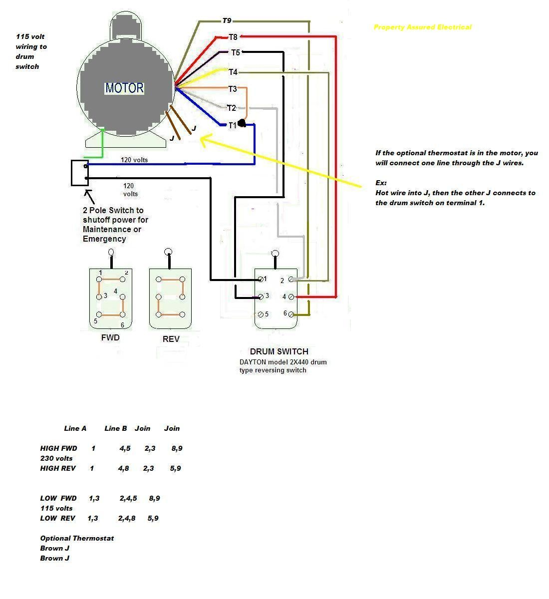 Wiring Diagram Baldor Motor Diagrams 3 Phase 9 Wire Best 208V 8