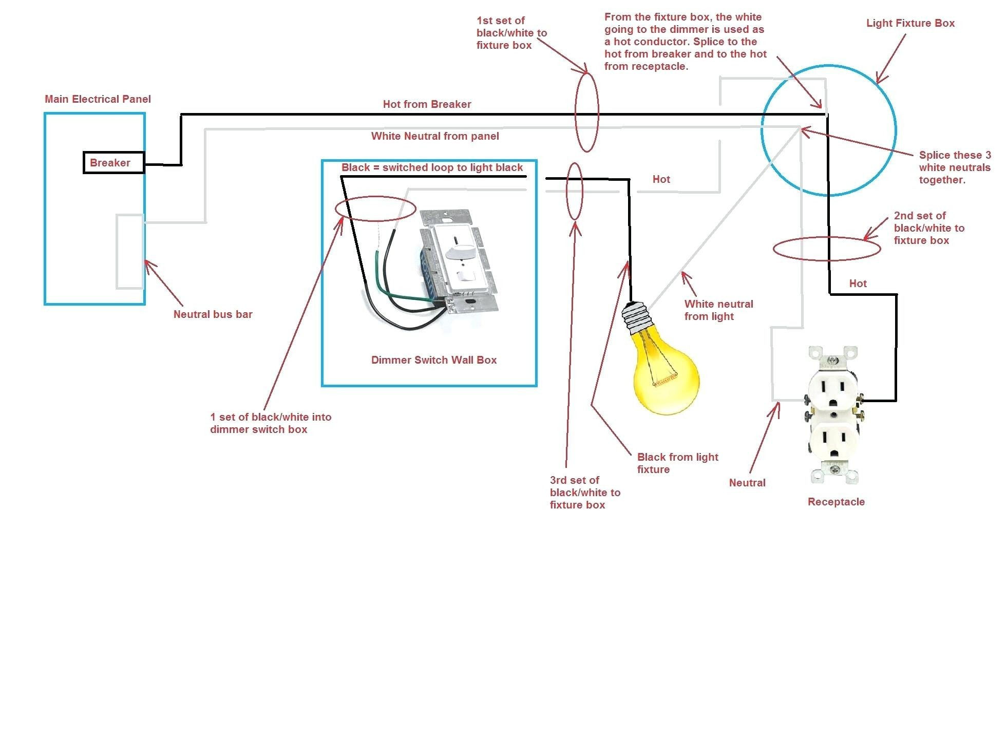 Wiring Diagram For A Dimmer Switch In The Uk Best Light Stunning 2 Way