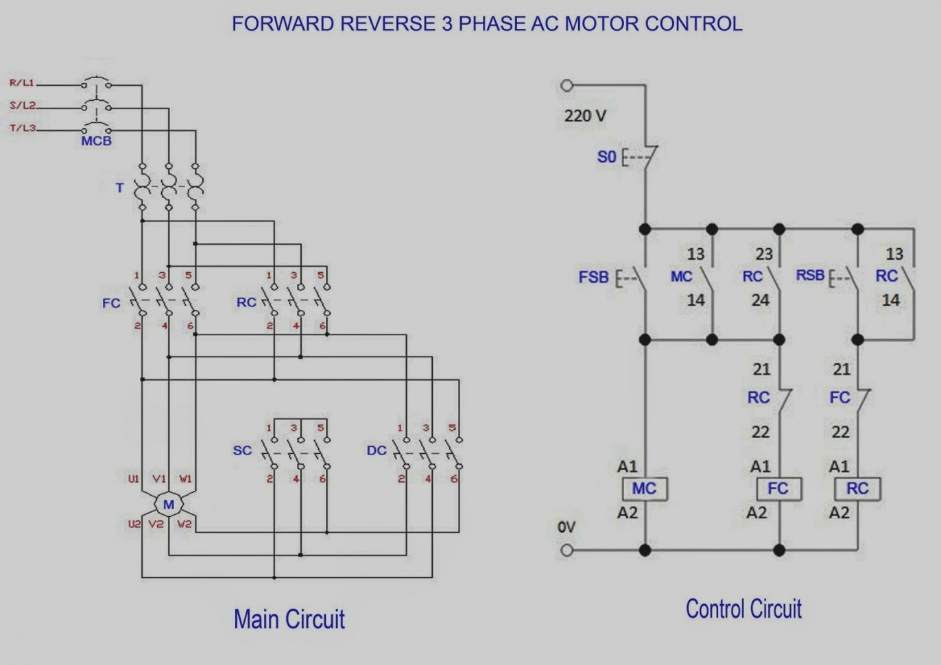 Famous How To Wire A 3 Phase Electric Motor Model - Electrical ...