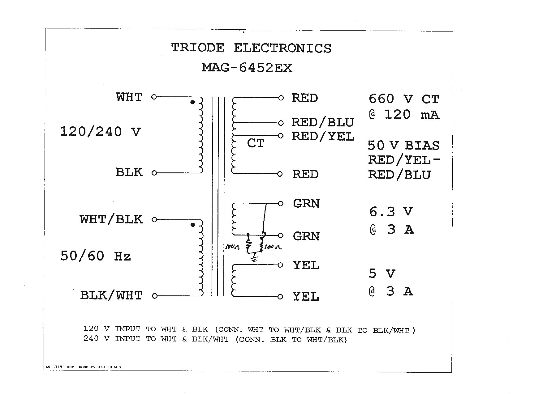 Acme Transformers Wiring Diagrams