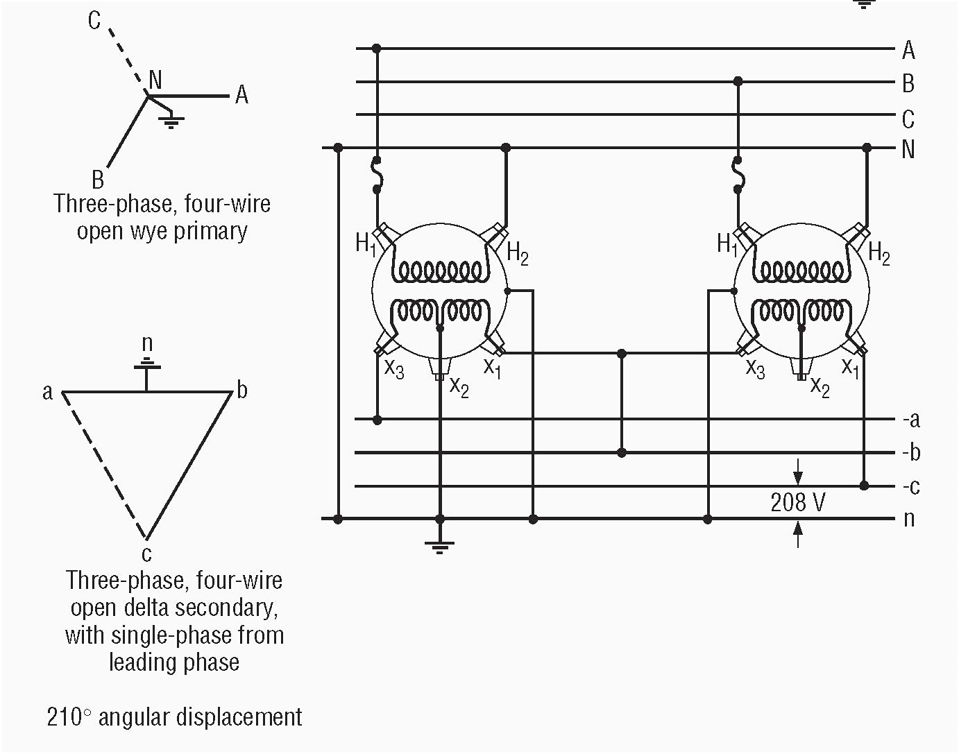Three Phase Transformer Wiring Diagram Gooddy Org Ripping For 480V To 120V