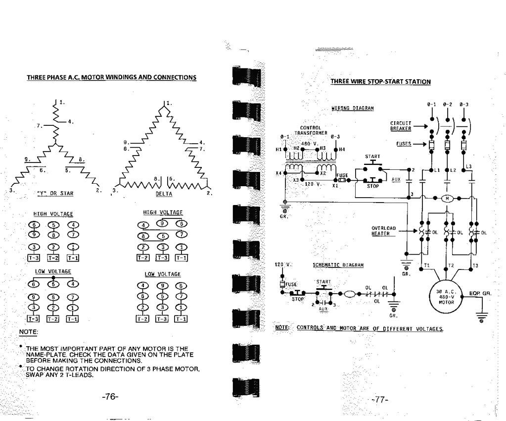3 Phase Wiring Diagram Inspirational
