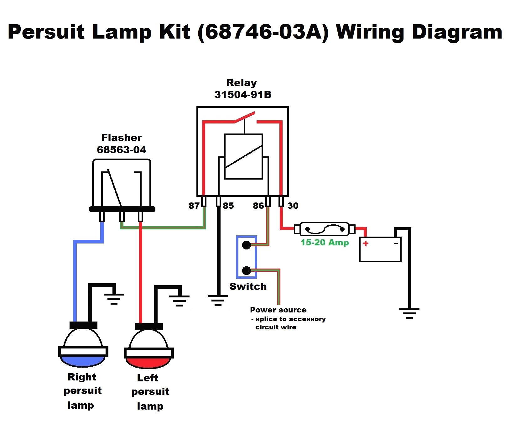 4 Wire Flasher Diagram - Wiring Diagrams Blogpalox-france.fr