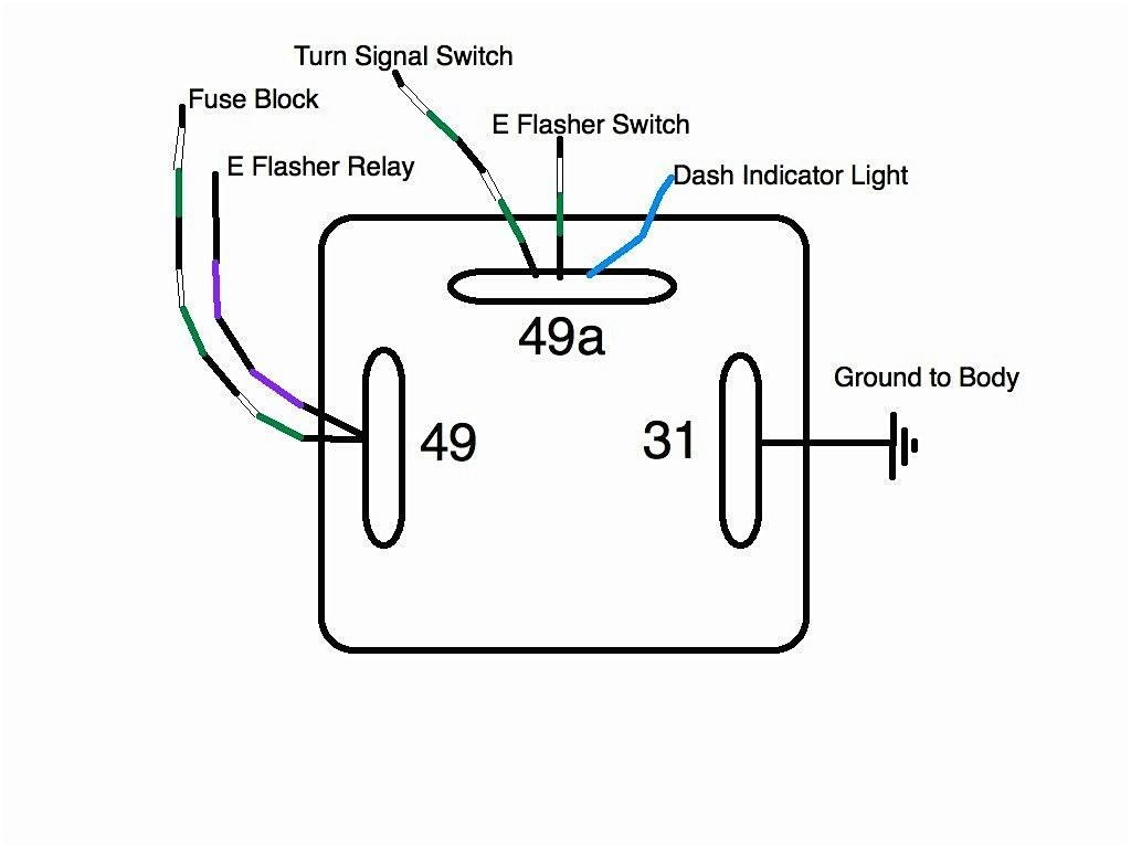 Motorcycle Turn Signal Flasher Wiring Diagram from mainetreasurechest.com