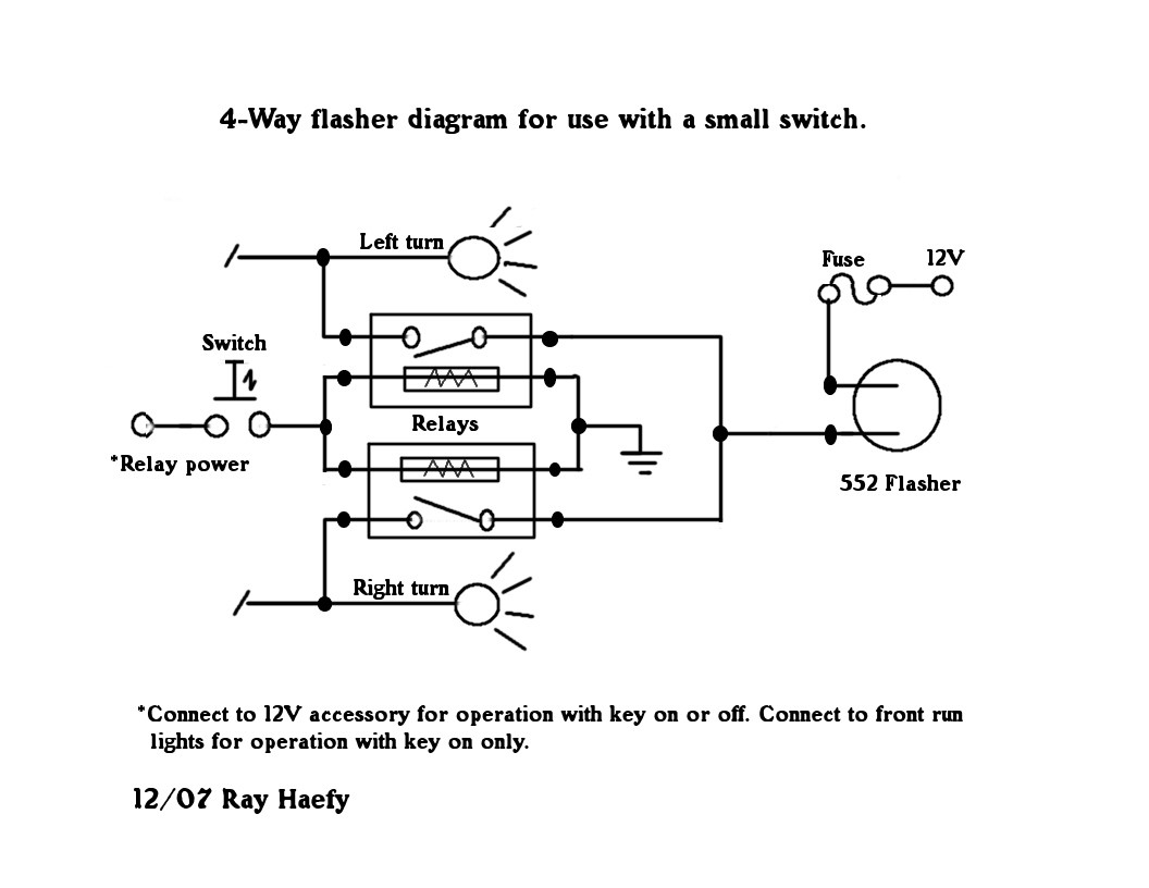 2 way flasher wiring diagrams trusted wiring diagram u2022 rh soulmatestyle co Signal Flasher Wiring-Diagram 2 pin flasher relay circuit diagram