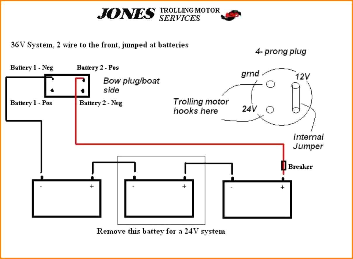Wire Plug Wiring Diagram For Trolling Motor Further 24 Volt Trolling ...
