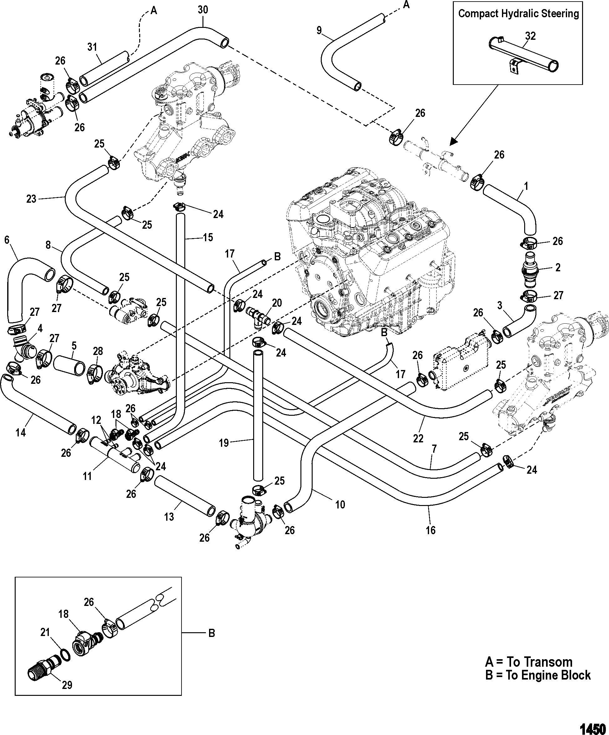 4 3 vortec engine diagram how to replace a freeze plug a gm 4 3 v6 rh detoxicrecenze Chevrolet 3 4 Engine Diagram Chevy 3 1 Engine Diagram