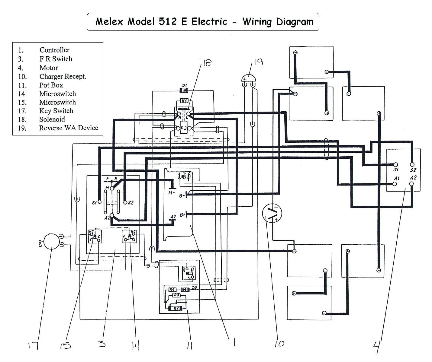 vintage golf cart wiring diagrams wiring Ezgo Gas Wiring Diagram melex golf cart wiring diagram for