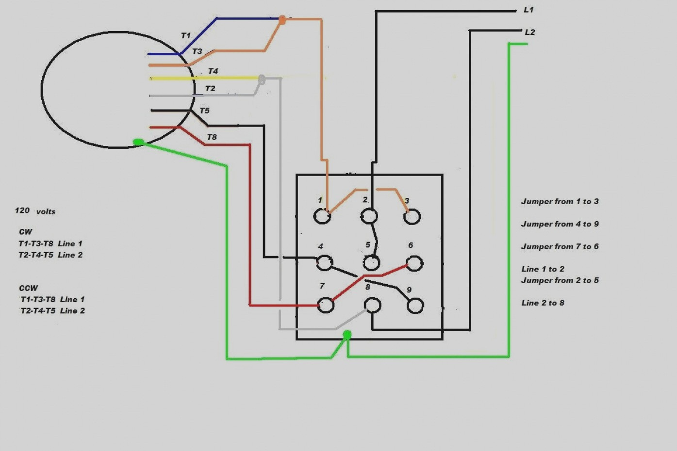 Dual Voltage 3 Phase Motor Wiring Diagram View Diagram - WIRE Center •