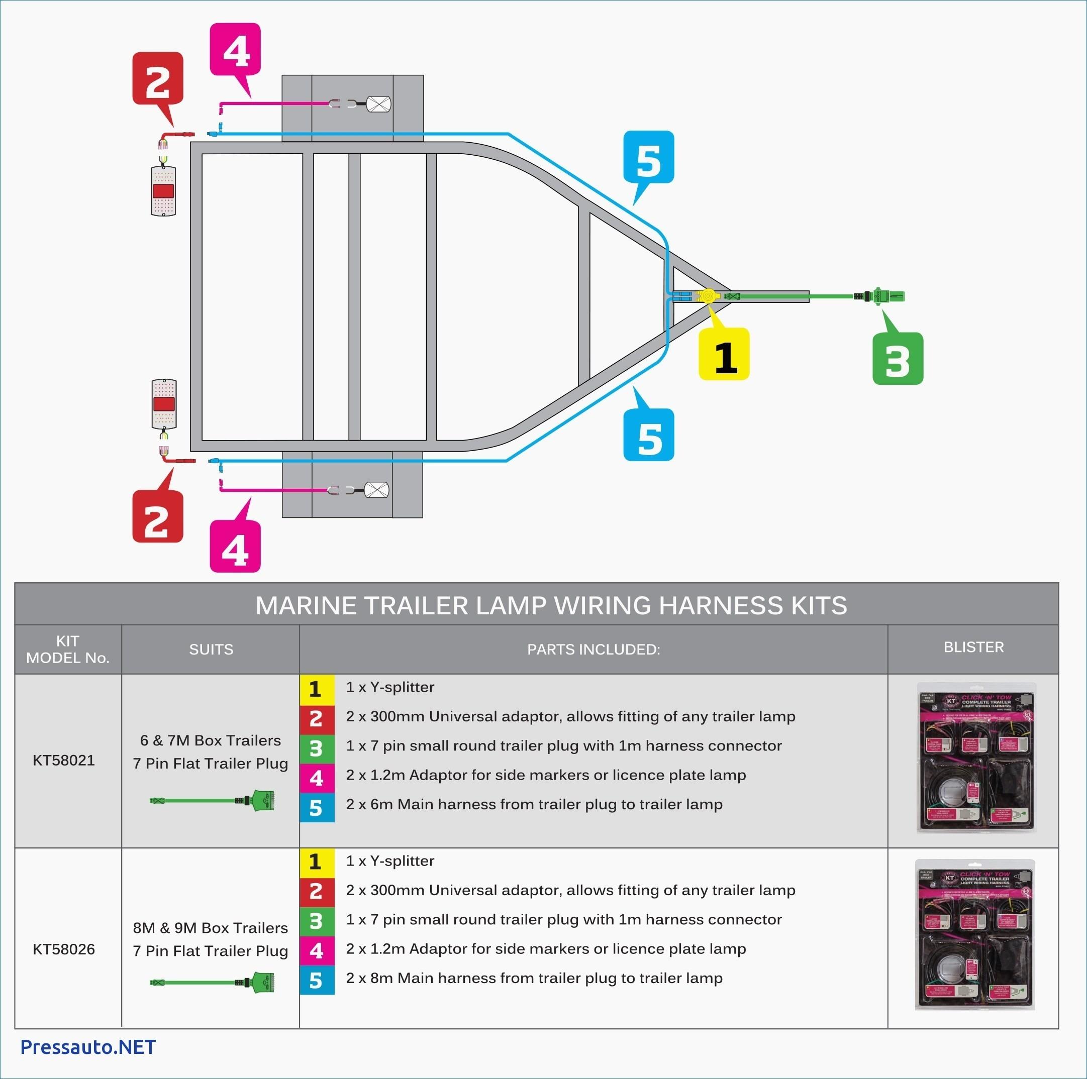 7 Wire Trailer Plug Diagram Inspirational Wiring Diagram Trailer Marker Lights Valid 5 Pin Trailer Plug