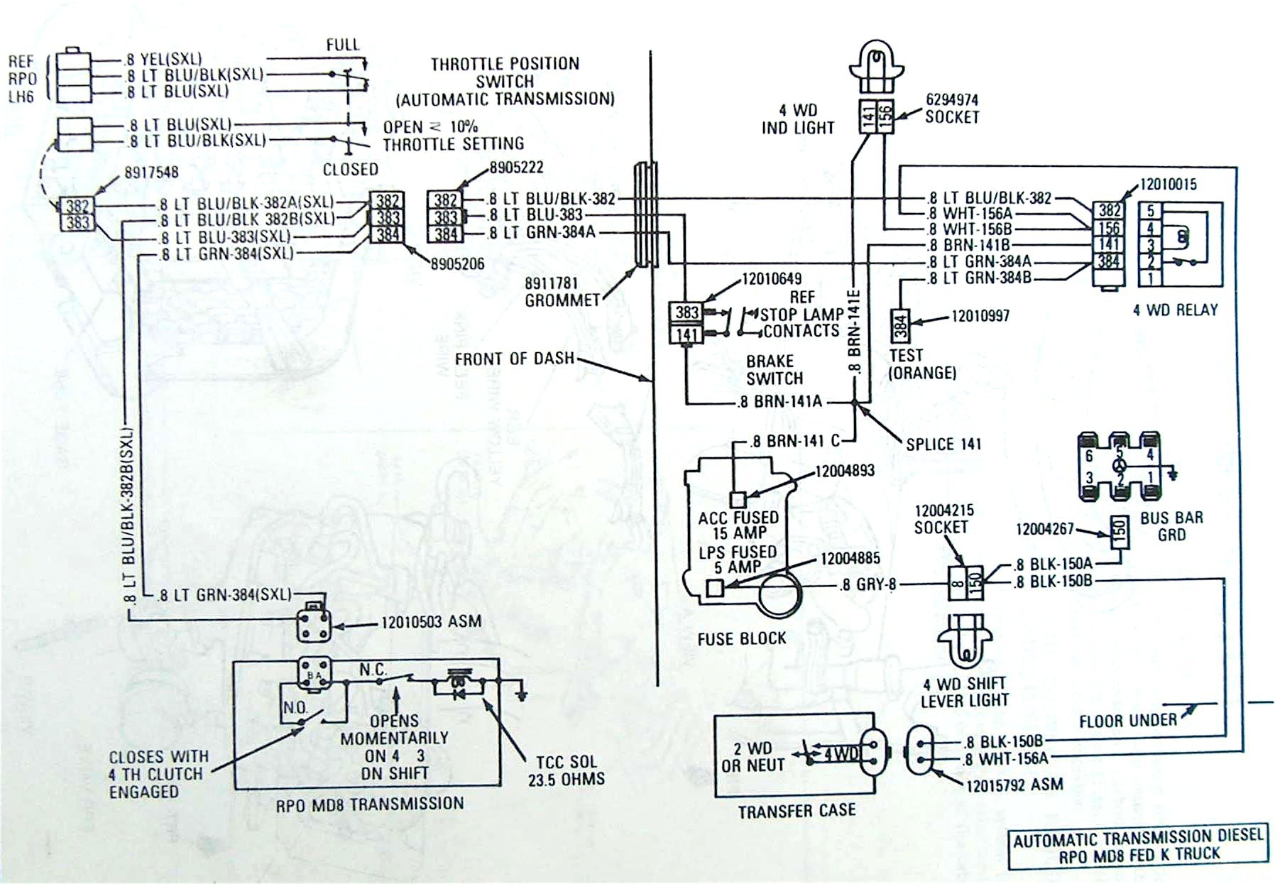 Bowtie Overdrives Lock Up Wiring Diagram