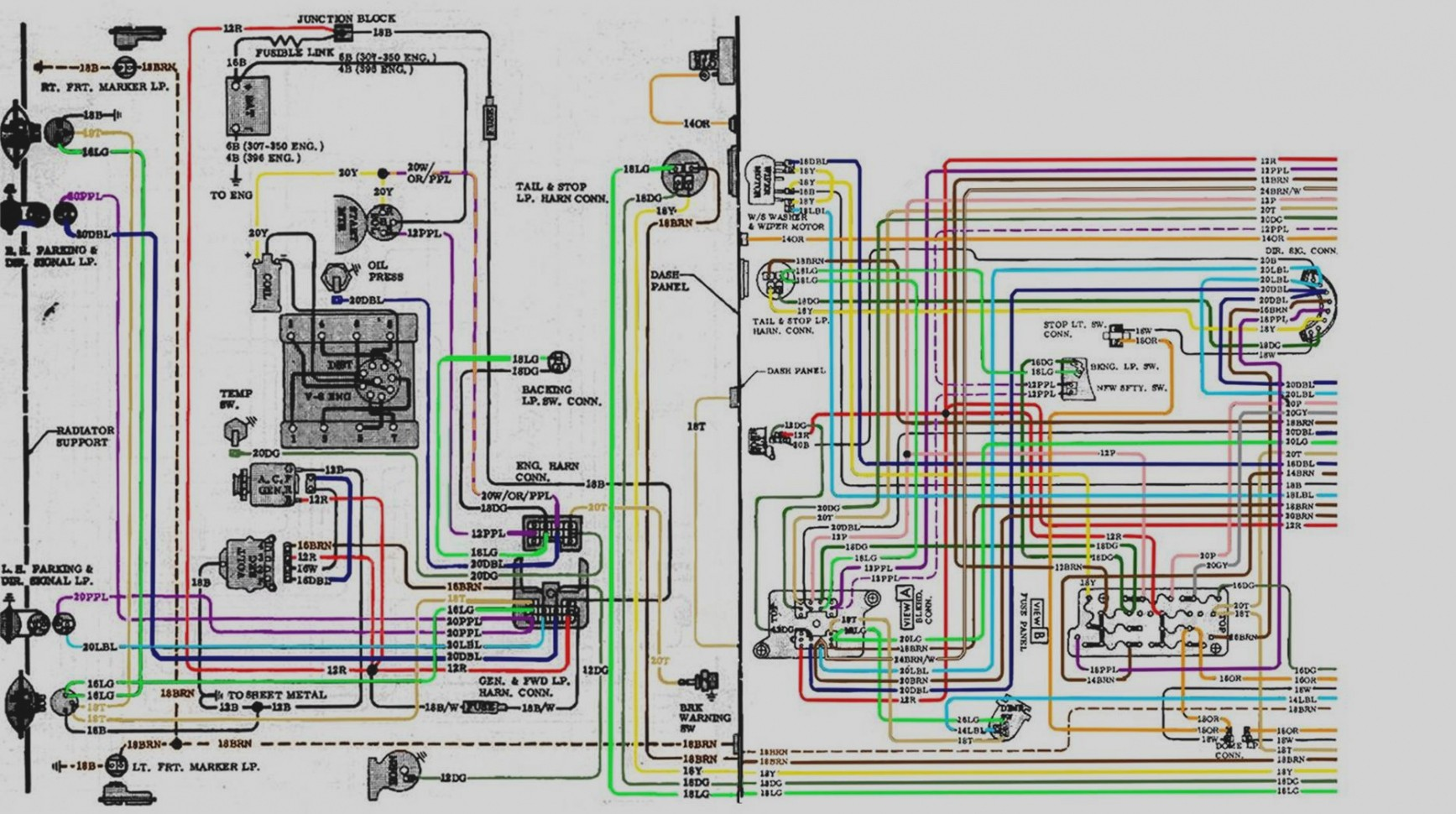 69 Chevy Truck Wiring Diagram Trusted Diagrams 1969 Harness C10 Pu Database U2022 71 Ford Bronco