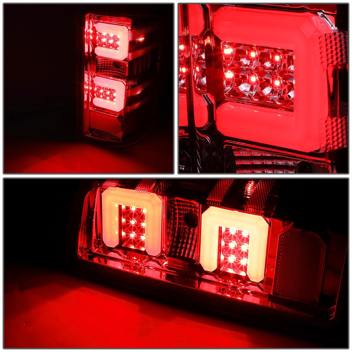 For 15 17 Chevy Silverado GMC Sierra 1500 2500 3500 HD 3D LED Light