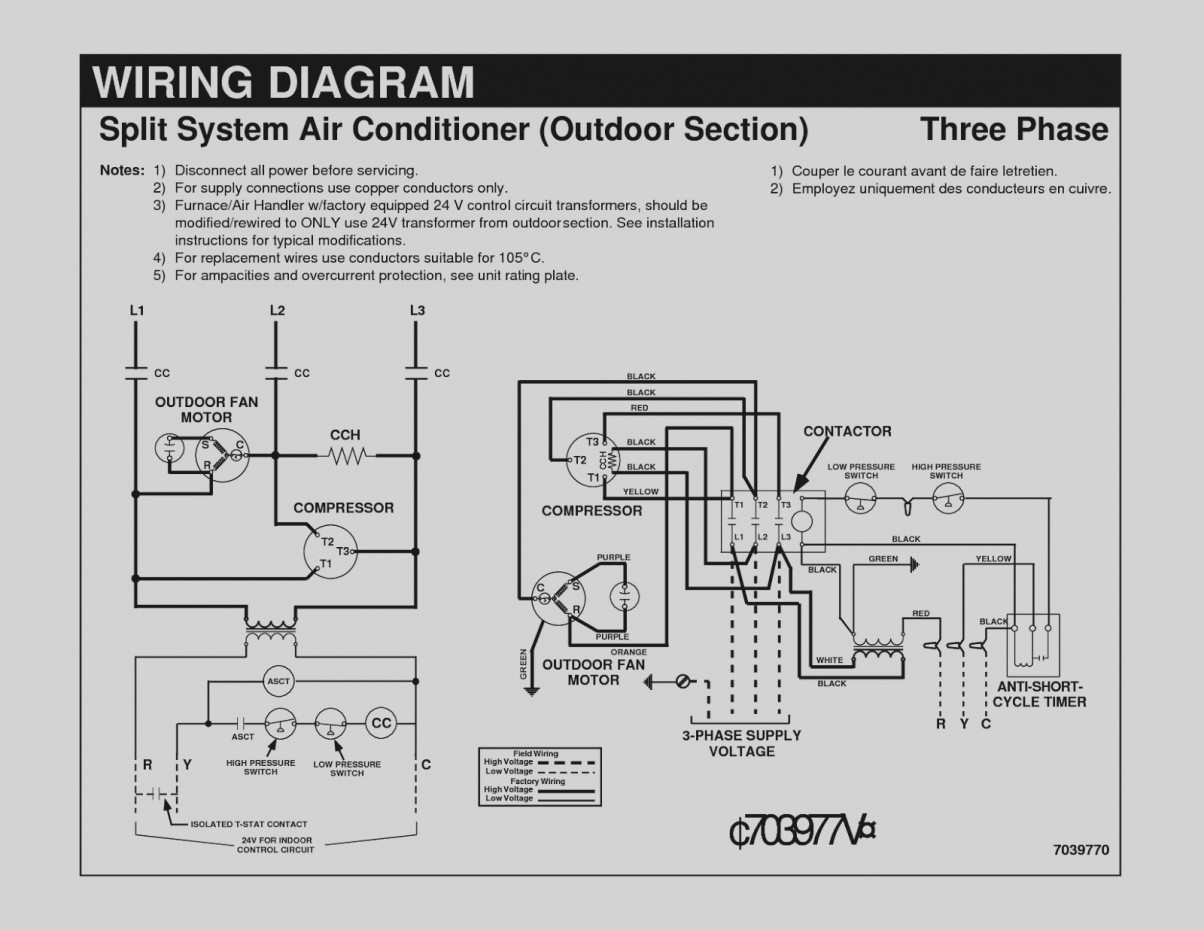 Trend Air Conditioner Wiring Diagram Electrical Diagrams For Conditioning Systems Part e