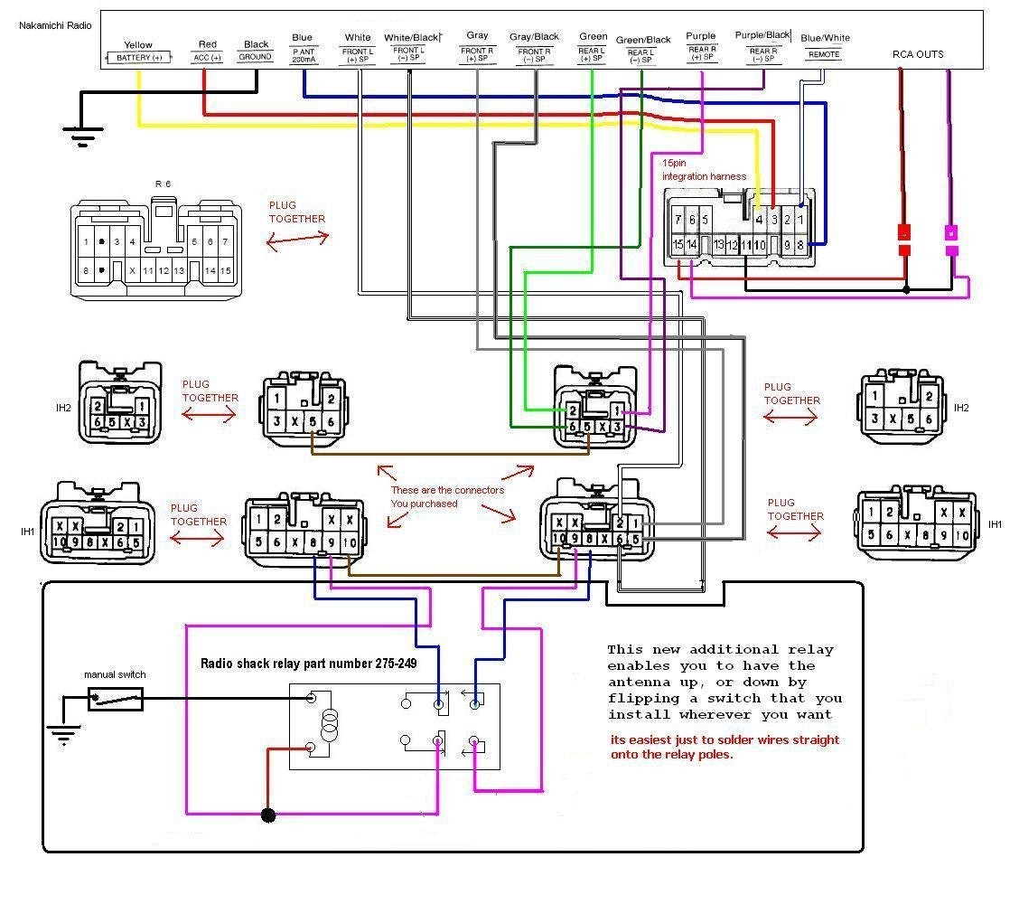 Car audio wiring diagram stereo diagrams in with for a experience imagine