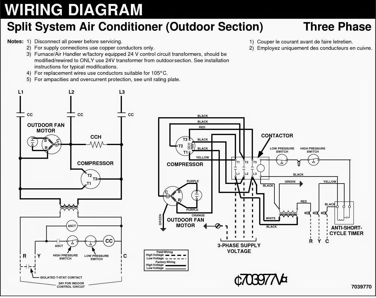 auto air conditioner wiring diagram