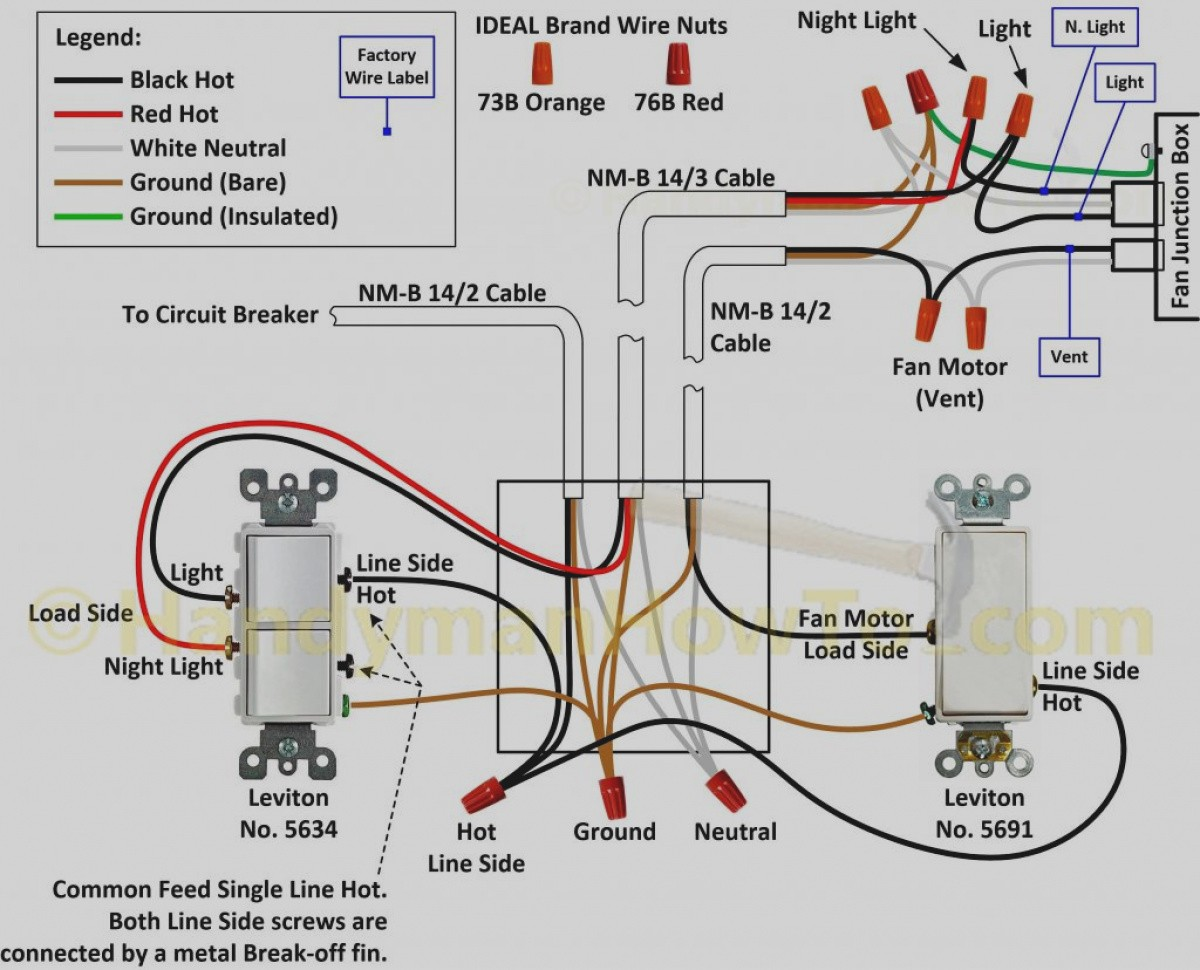 Awesome Fantastic Vent Wiring Diagram Diagrams Hunter Fan Parts Ceiling Remote Inside Switch