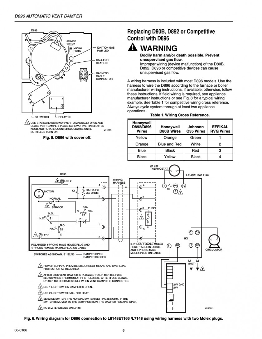 automatic vent damper wiring diagram best of wiring diagram image rh mainetreasurechest com automatic vent damper wiring diagram Boiler Vent Damper Wiring-Diagram