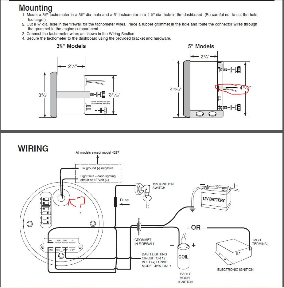 Autometer Oil Pressure Gauge Wiring Diagram | Wiring Diagram Image