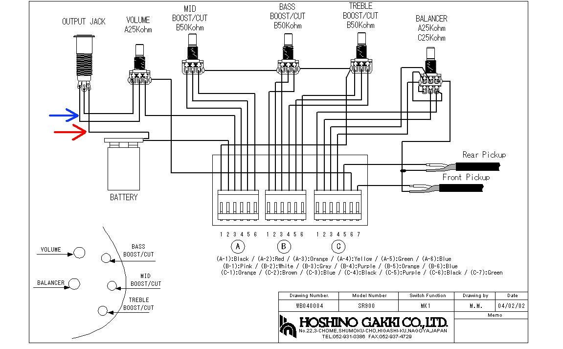 Ibanez Bass Guitar Wiring Diagram hbphelp