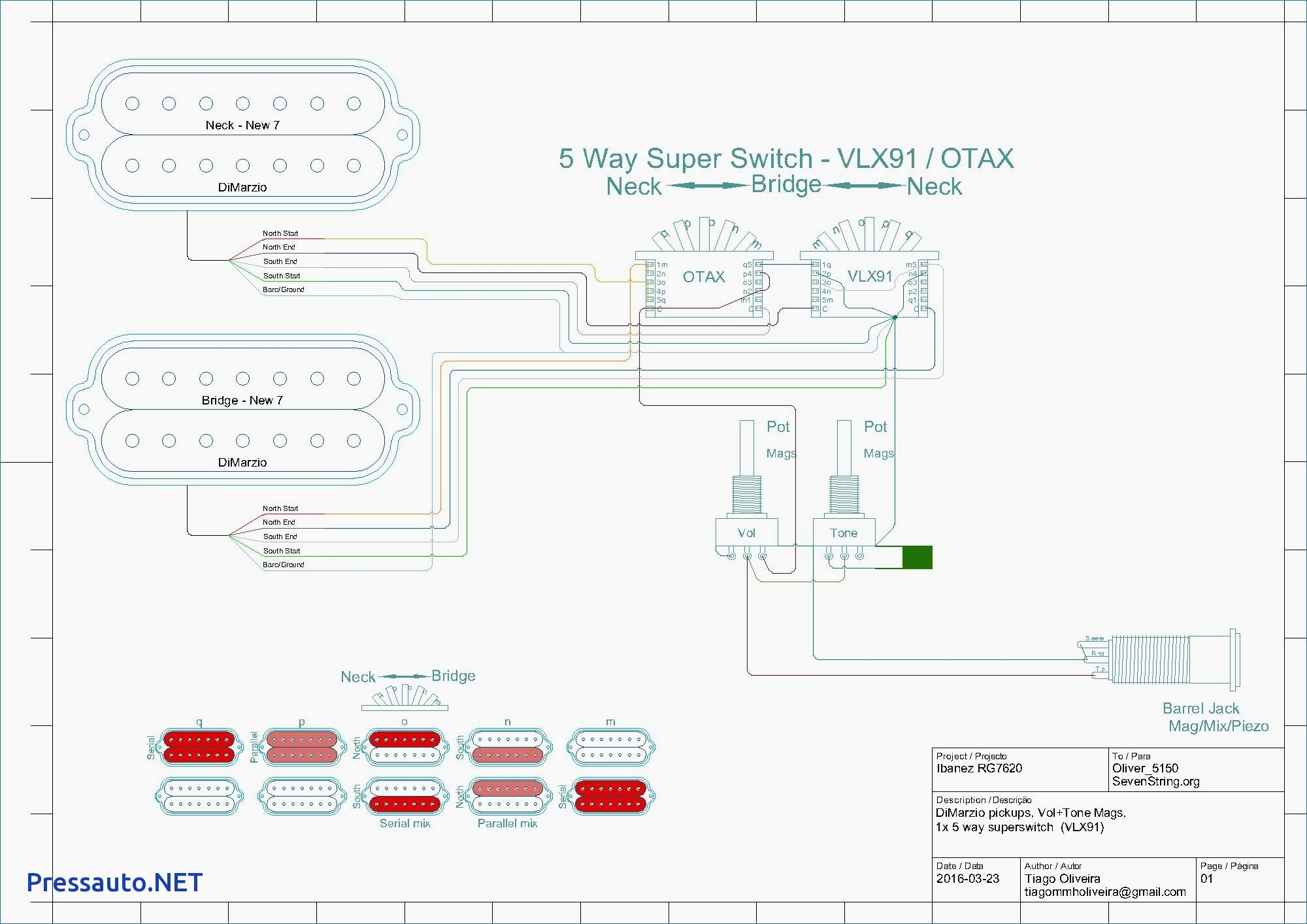 Wiring Diagram For Electric Bass Guitar Valid Bass Guitar Wiring Diagram 2 Pickups