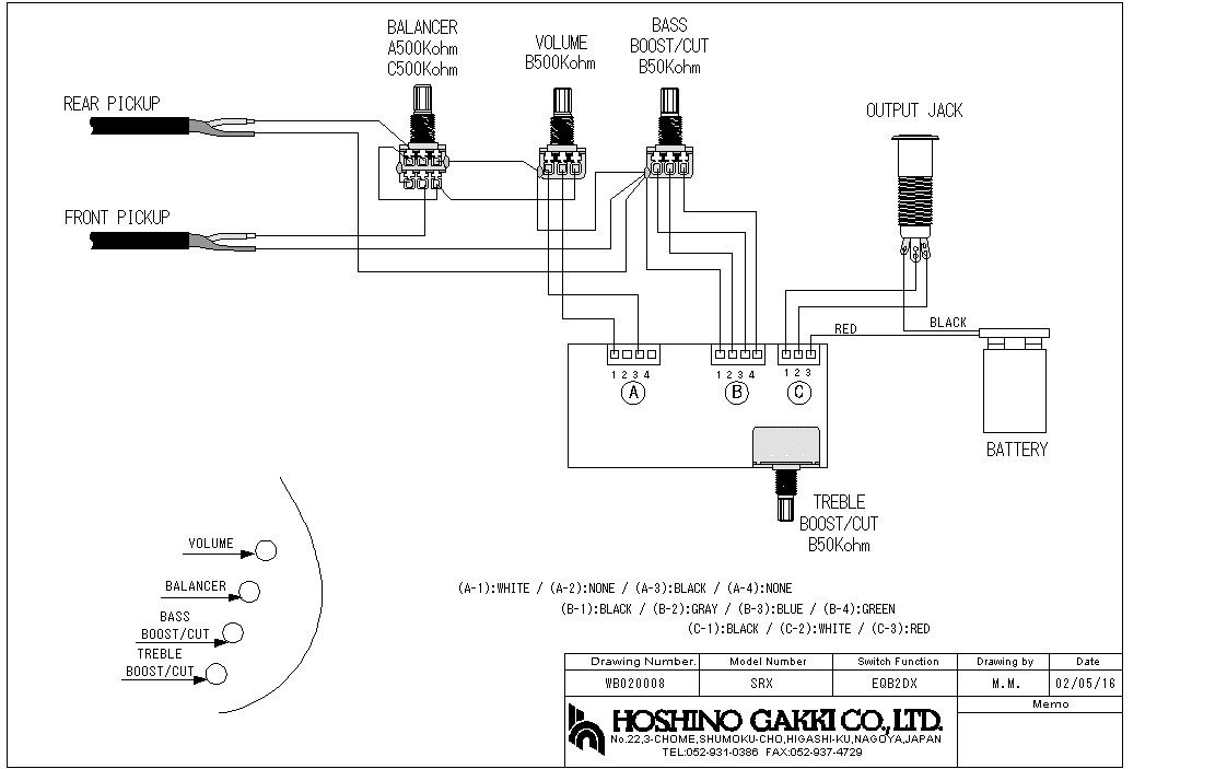 Gallery of Jazz Bass Wiring Diagram