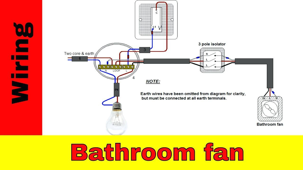 How To Wire Bathroom Fan WIRING DIAGRAM 18