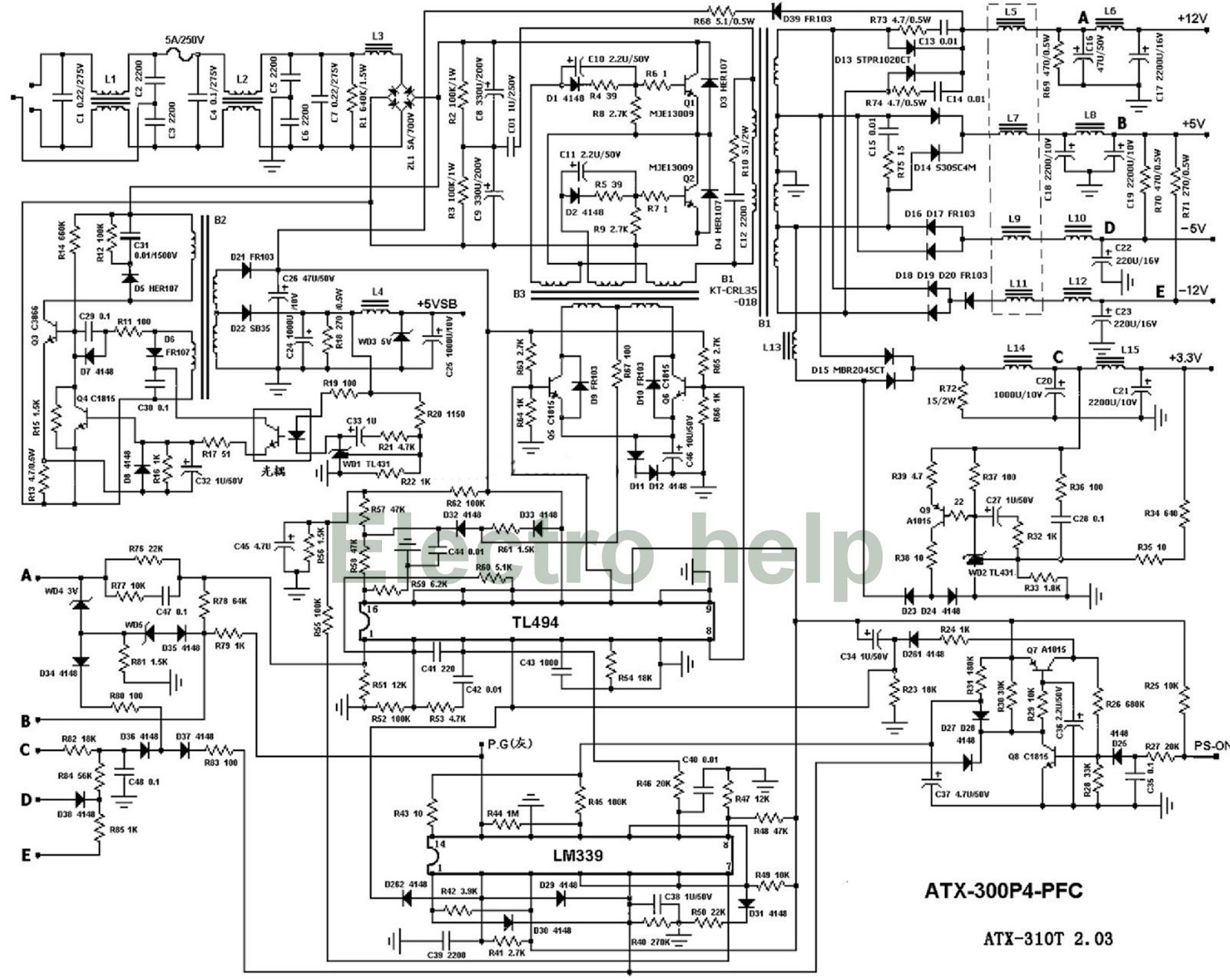 Computer Power Cord Wiring Diagram Electrical Diagrams Bestec Atx 250 12z Schematic Wire Data Schema U2022
