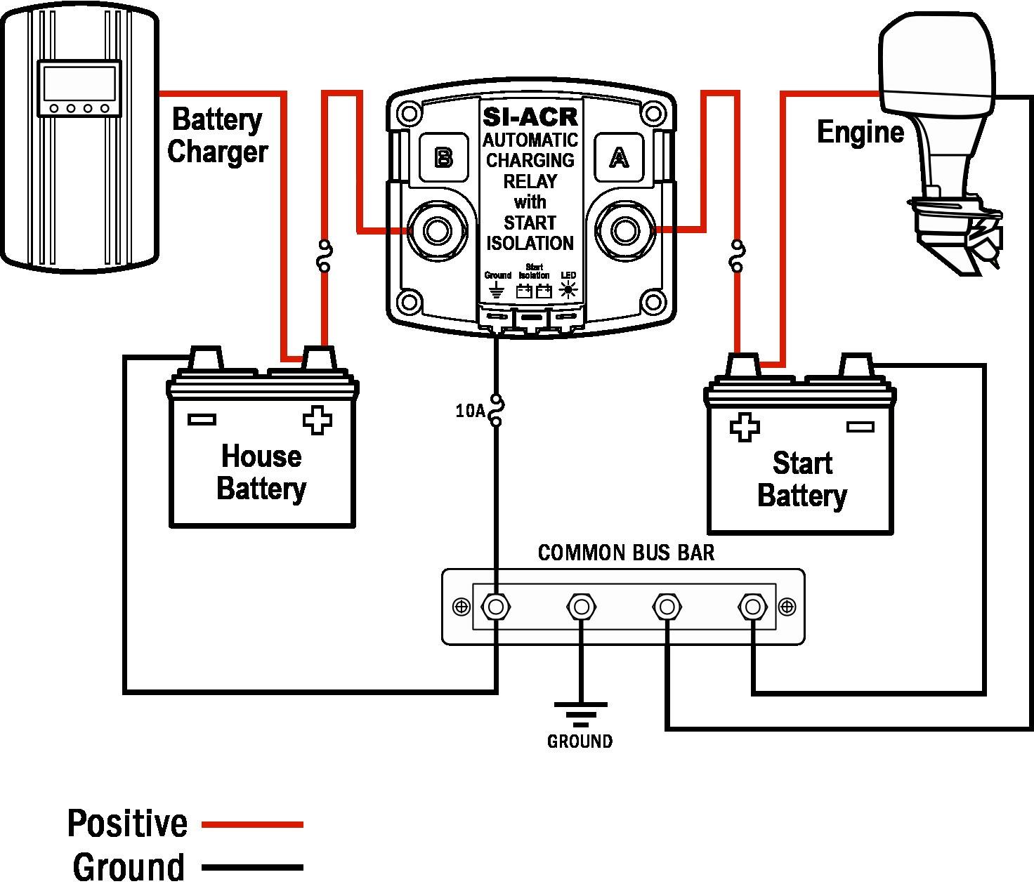 Marine Battery Switch Wiring Diagram WIRING DIAGRAM Prepossessing