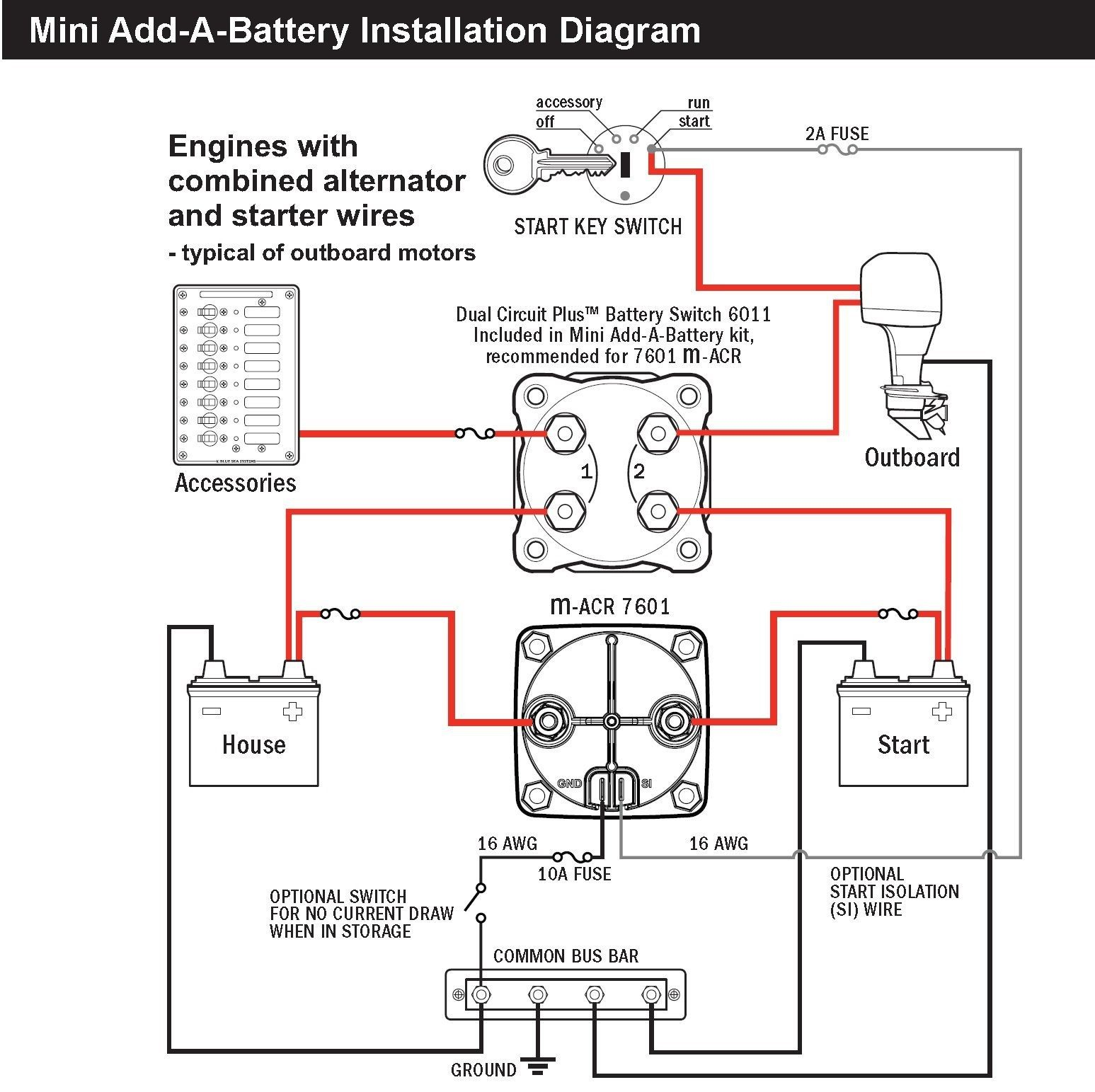 Wiring Diagram Dual Battery System And Webtor Me