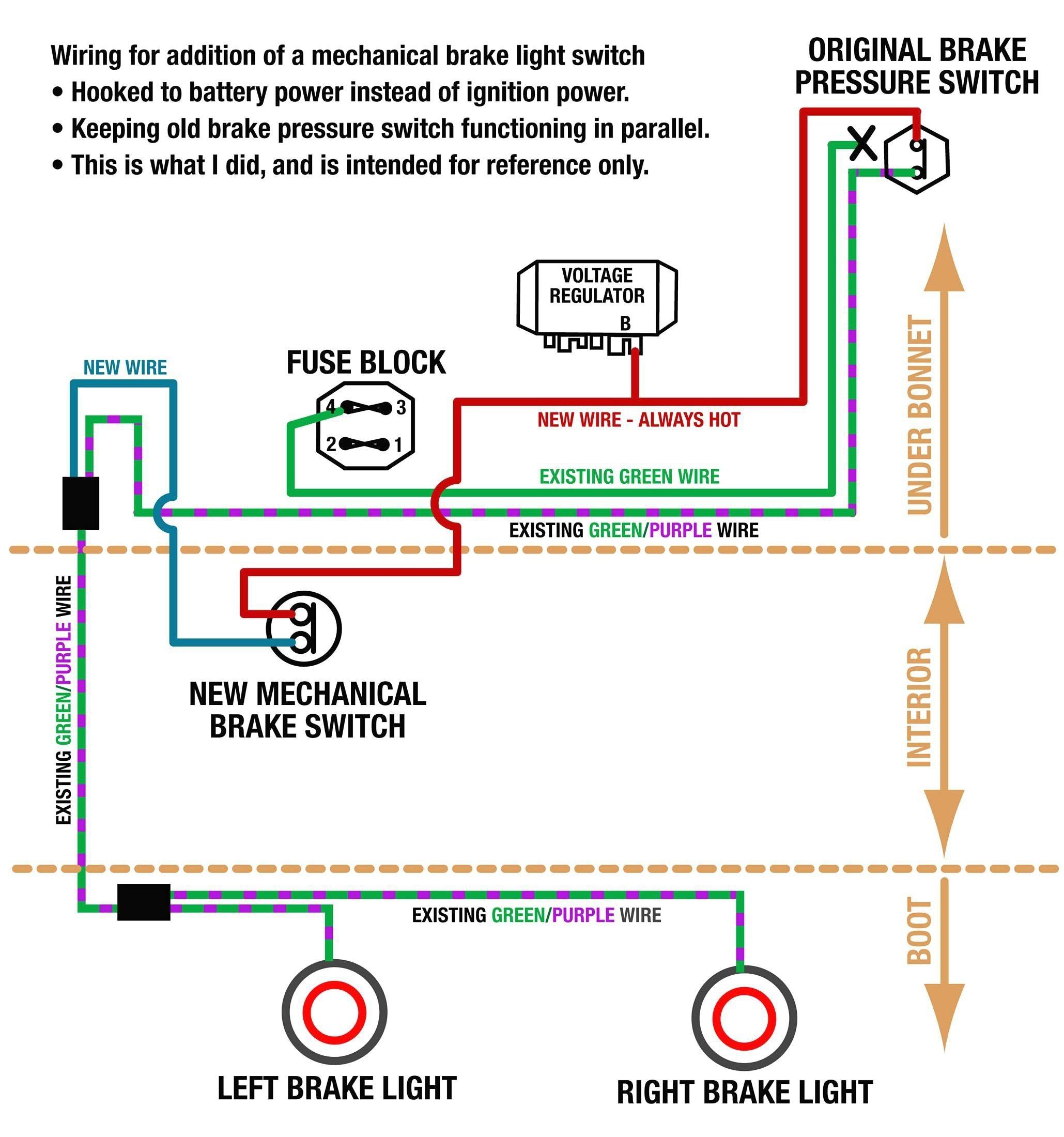 Best Brake Light Switch Wiring Harness