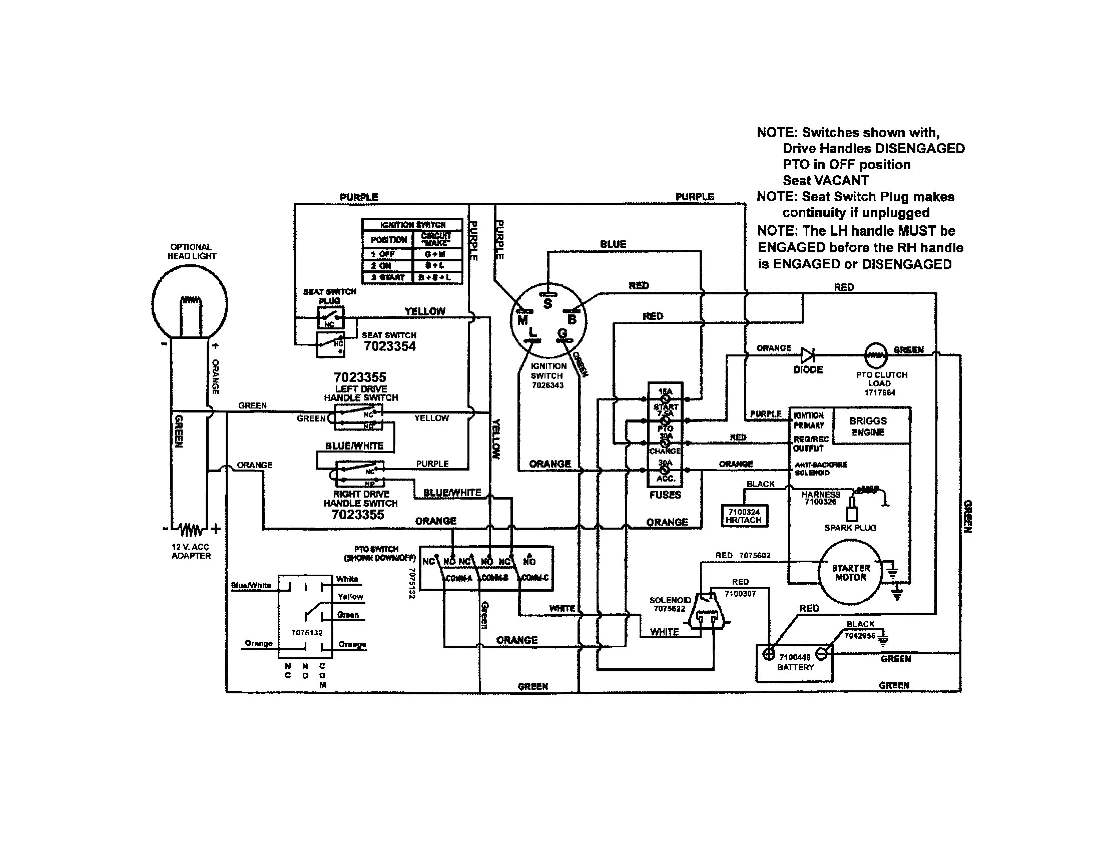 Briggs And Stratton 18 Hp Twin Wiring Diagram Solutions 17 5 Incredible