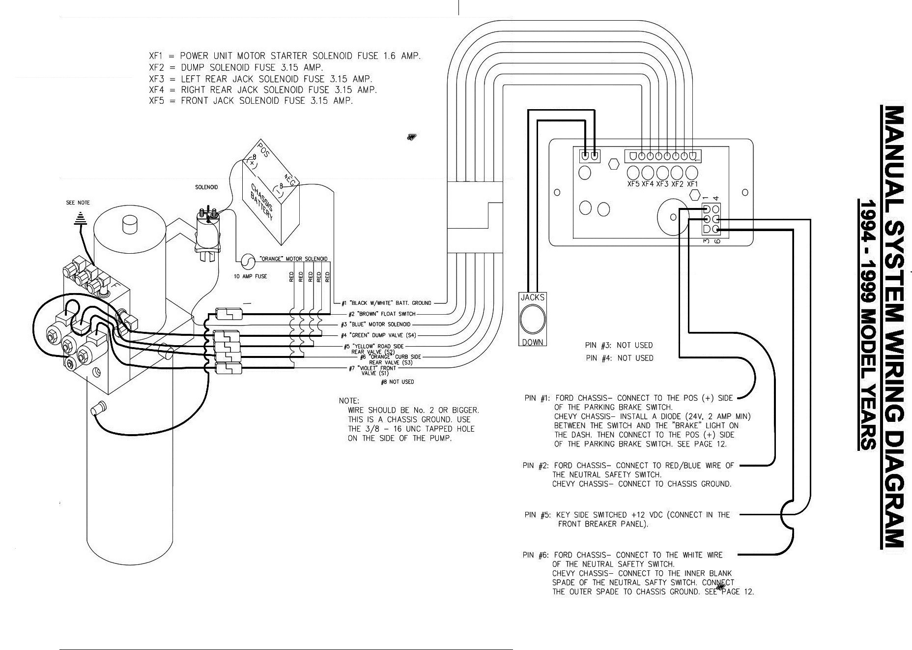 1999 fleetwood prowler wiring diagram