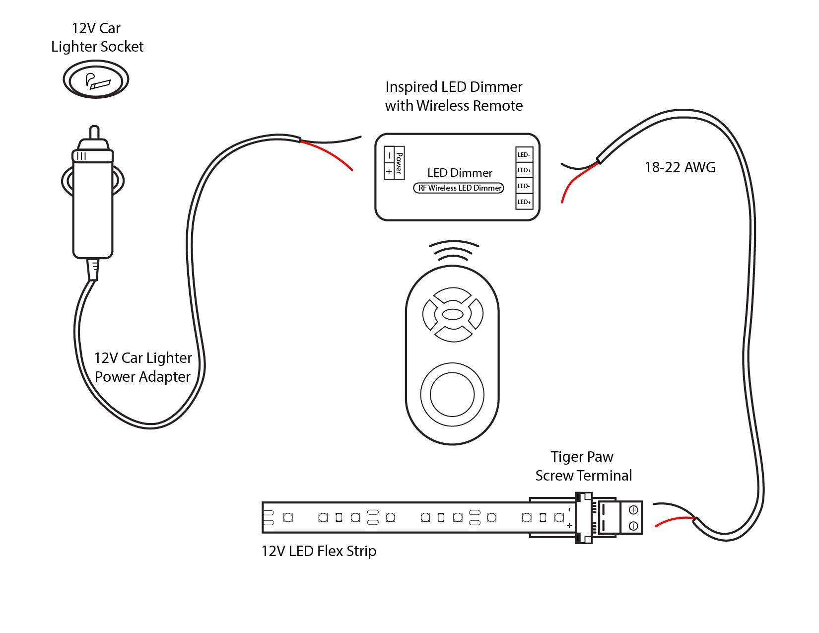 Wiring Diagram For Car Cigarette Lighter