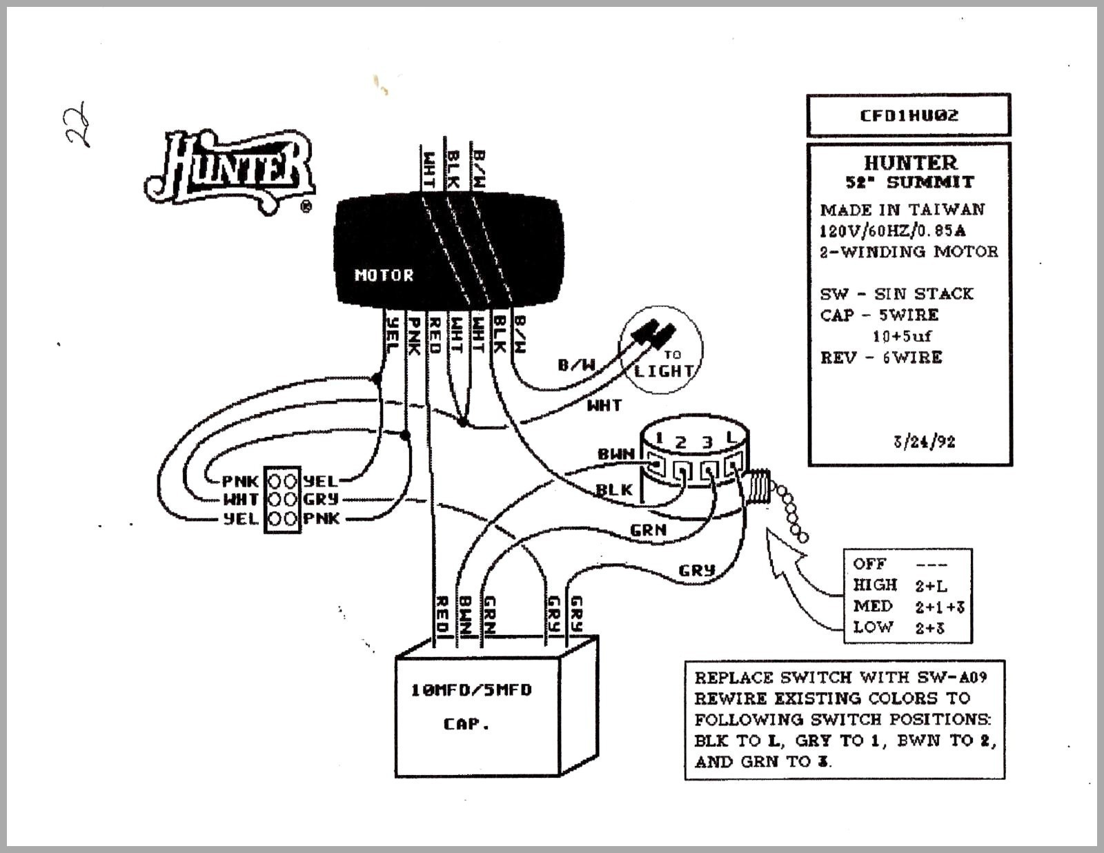 New Hampton Bay Ceiling Fan Switch Wiring Diagram