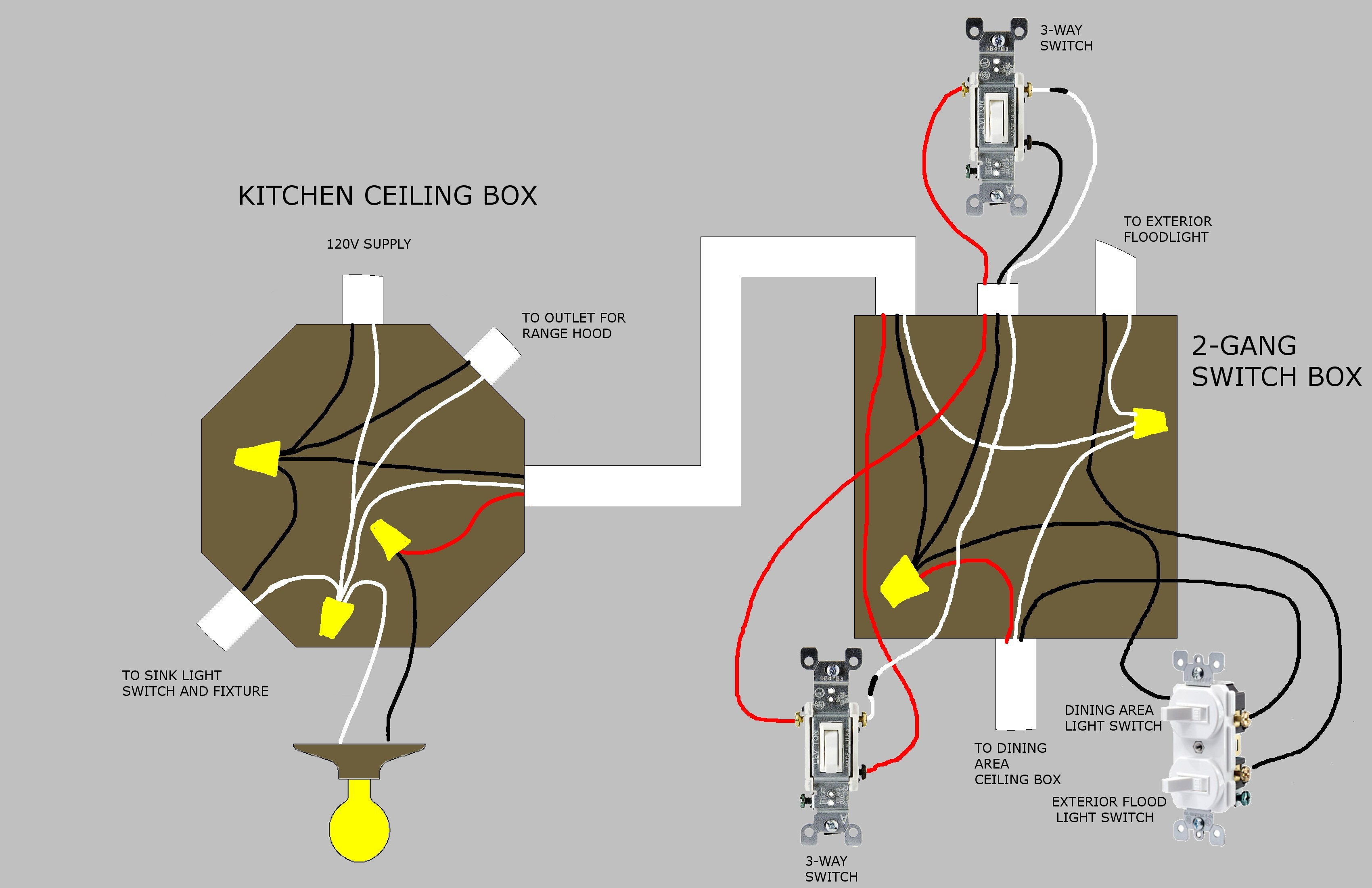 Wiring Diagram Ceiling Fan Light Two Switches Save Wire Ceiling Fan Pixball