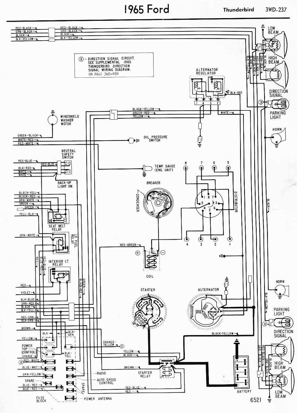 Fader Wiring Diagram 1964 Ford Library Automotive Schematics Fuse Box Falcon 65 T Bird Free Vehicle Diagrams U2022 Chevrolet Pickup