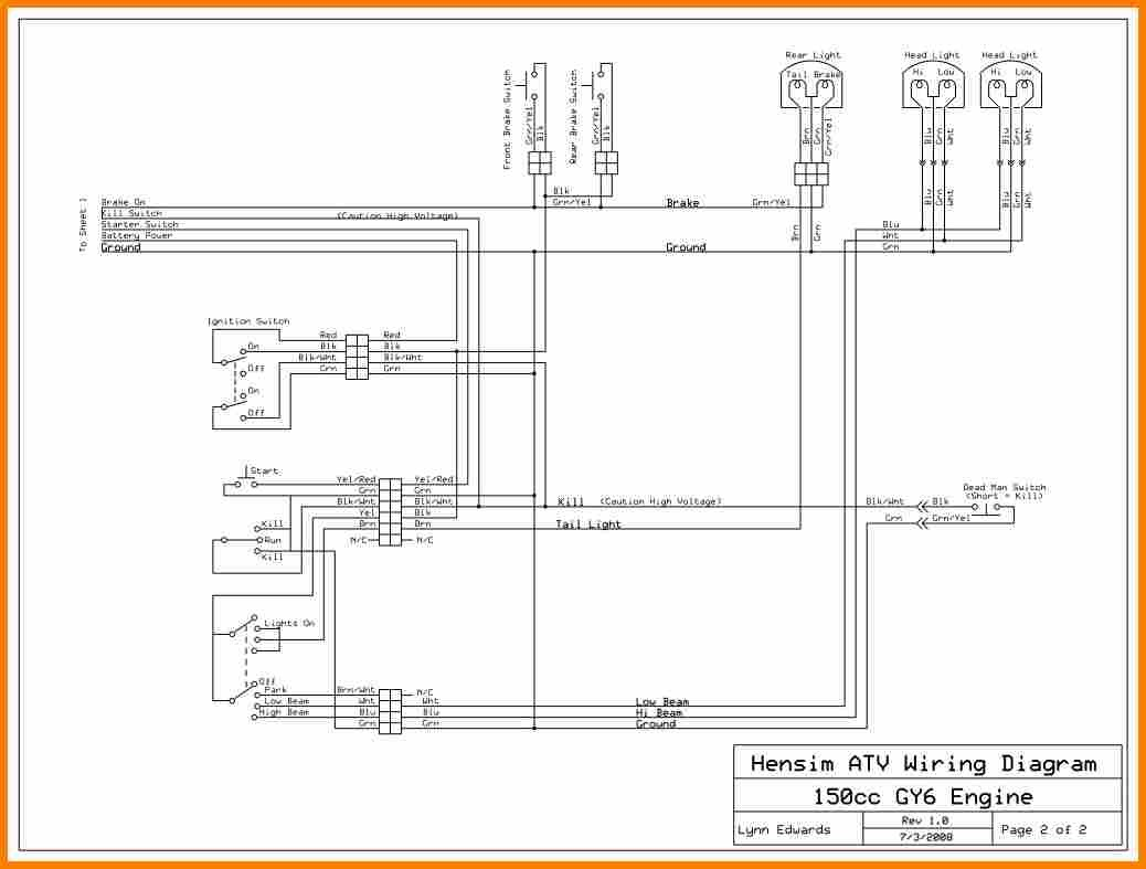 217 Tao 125 Atv Wiring Schematics Diagram | Wiring LibraryWiring Library