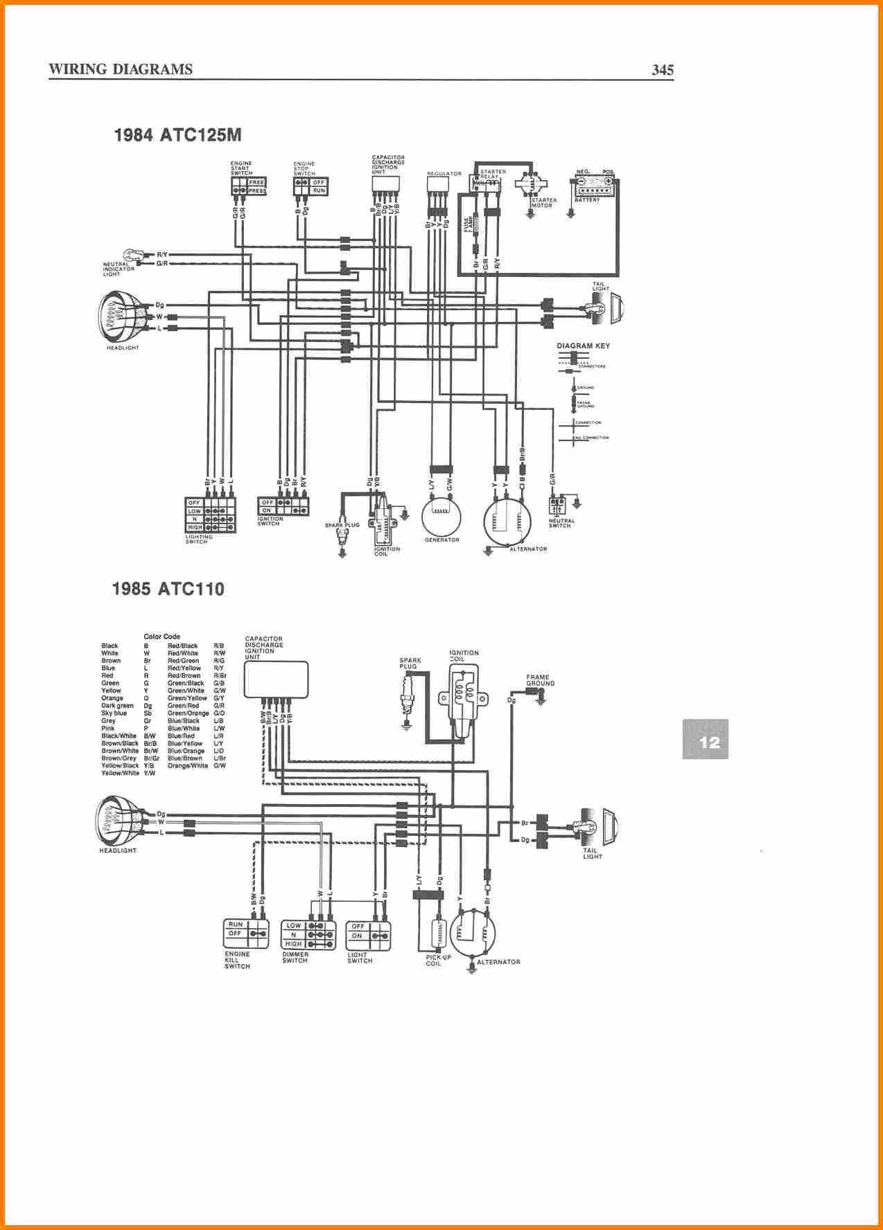 wiring diagram for tao tao 110cc 4 wheeler
