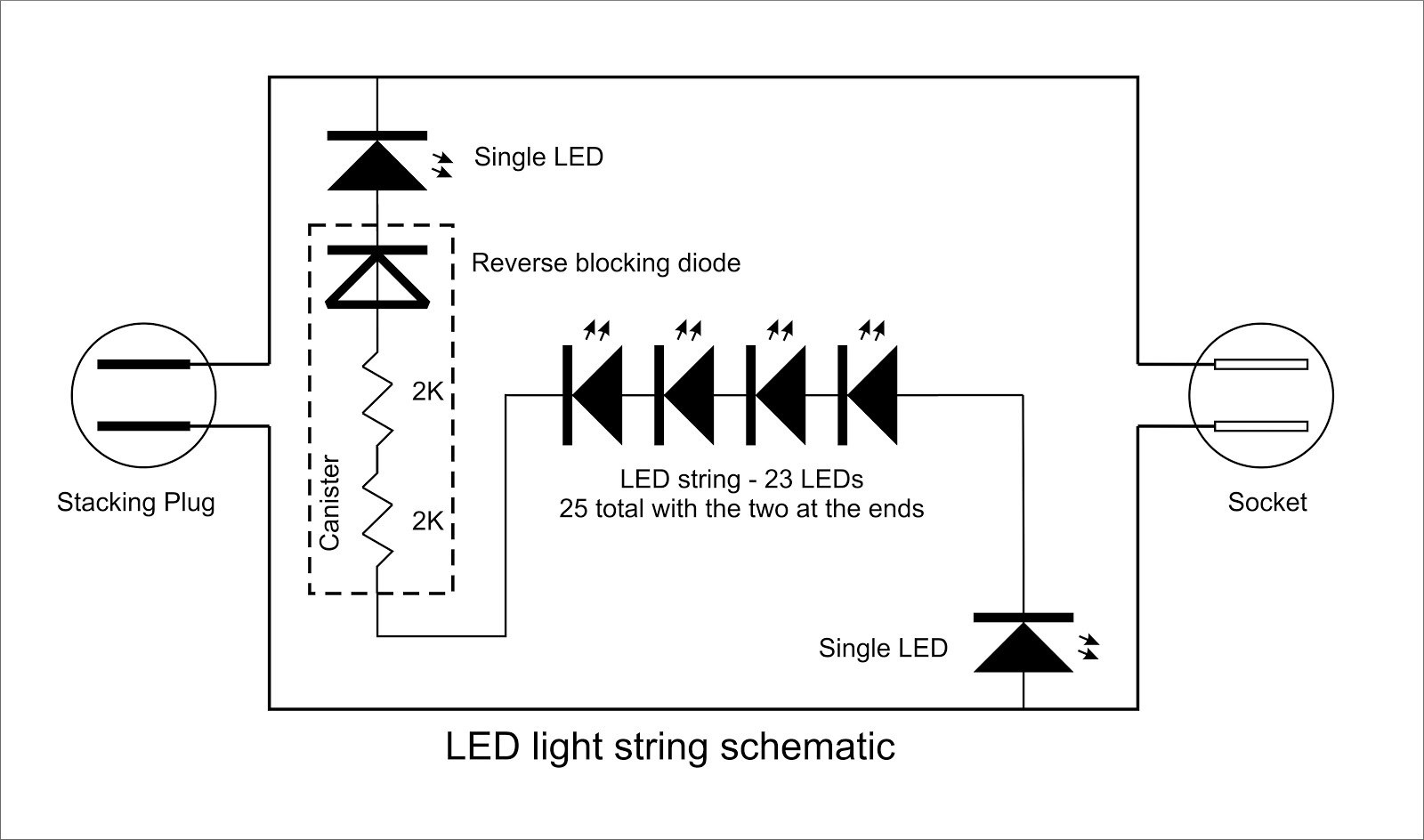 Georgesworkshop Fixing Led String Lights Intended For And Christmas Light Wiring Diagram