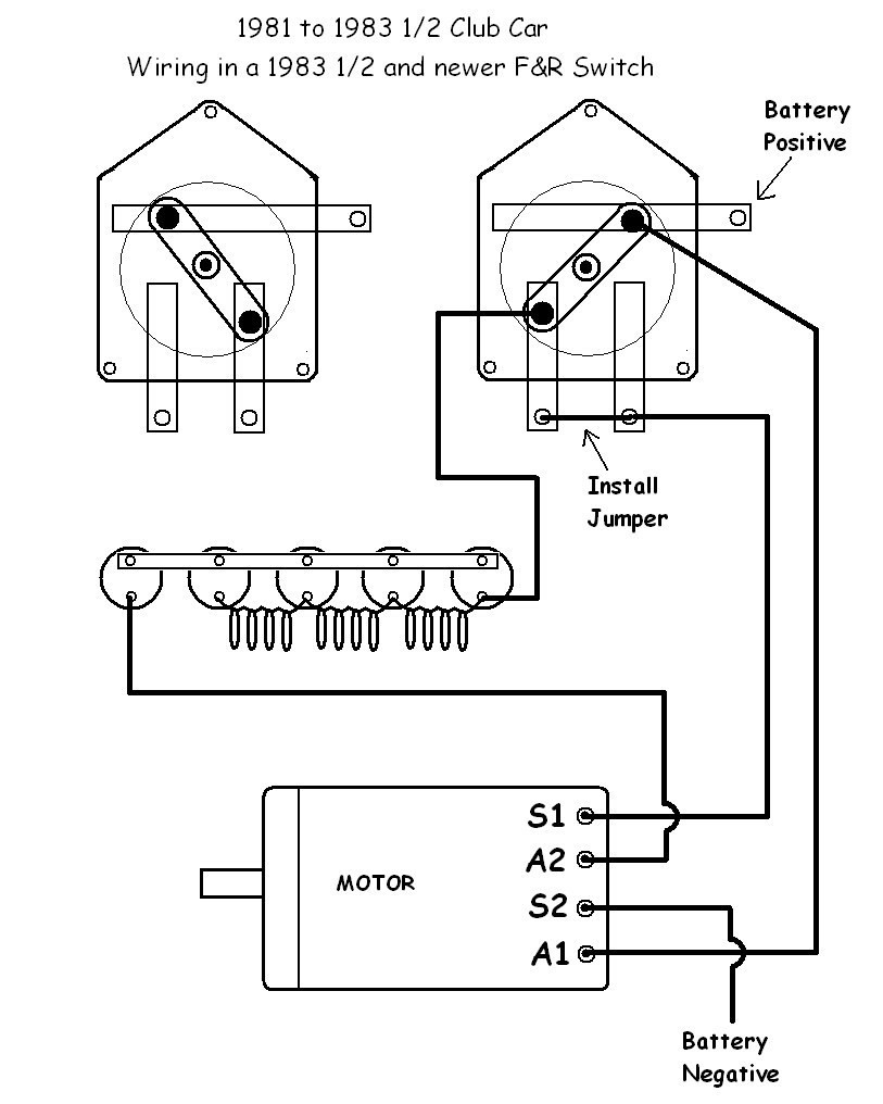 36 Volt Battery Wiring Diagram Within 93 Club Car Golf Cart