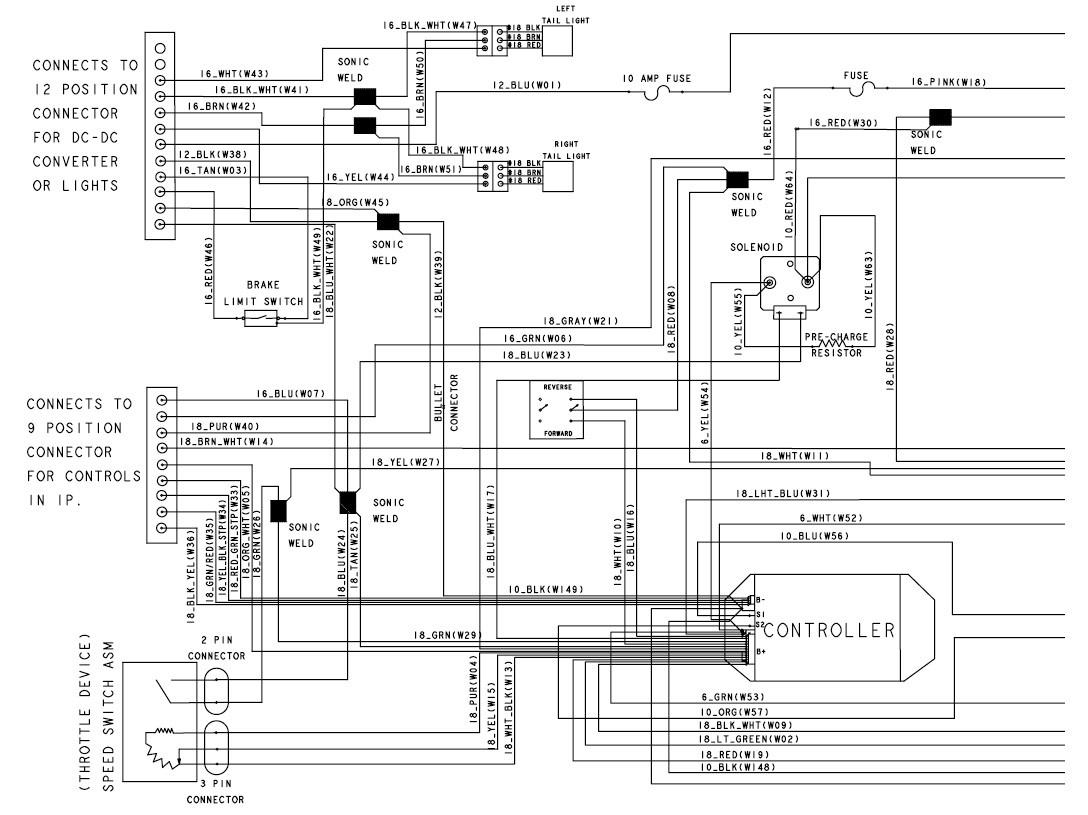 PrecedentA To Ingersoll Rand Club Car Wiring Diagram